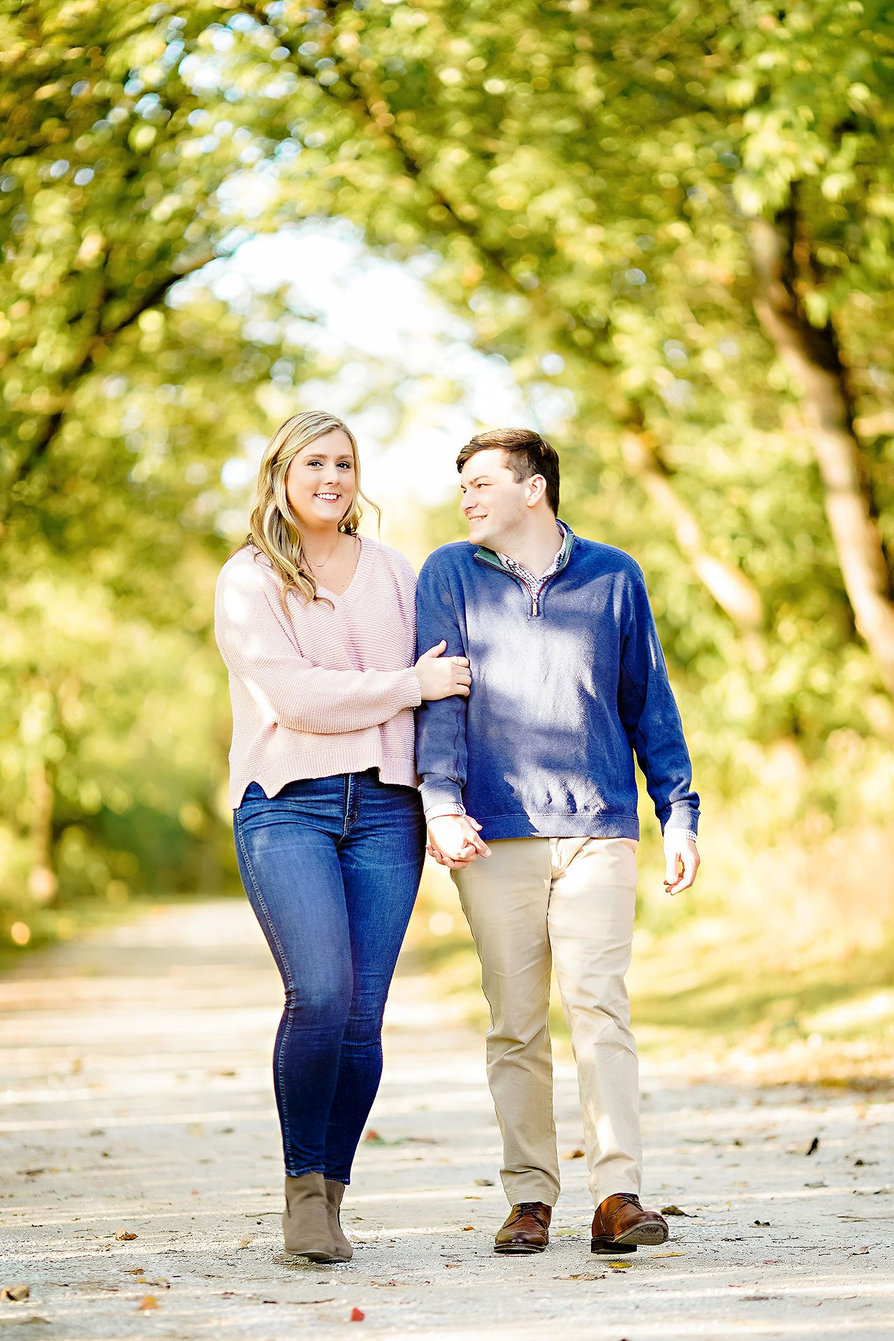 Taylor Case Newfields Engagement Session 137