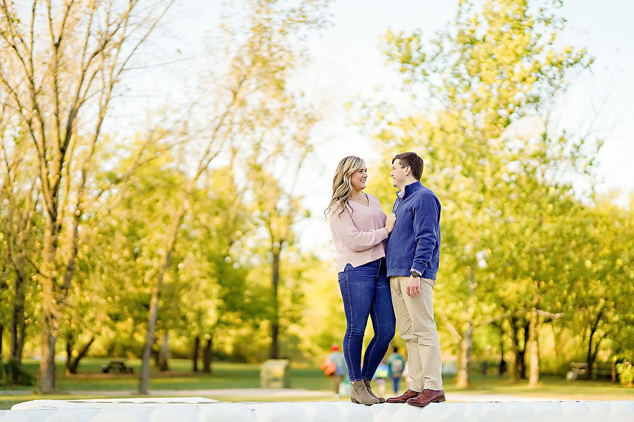 Taylor Case Newfields Engagement Session 140