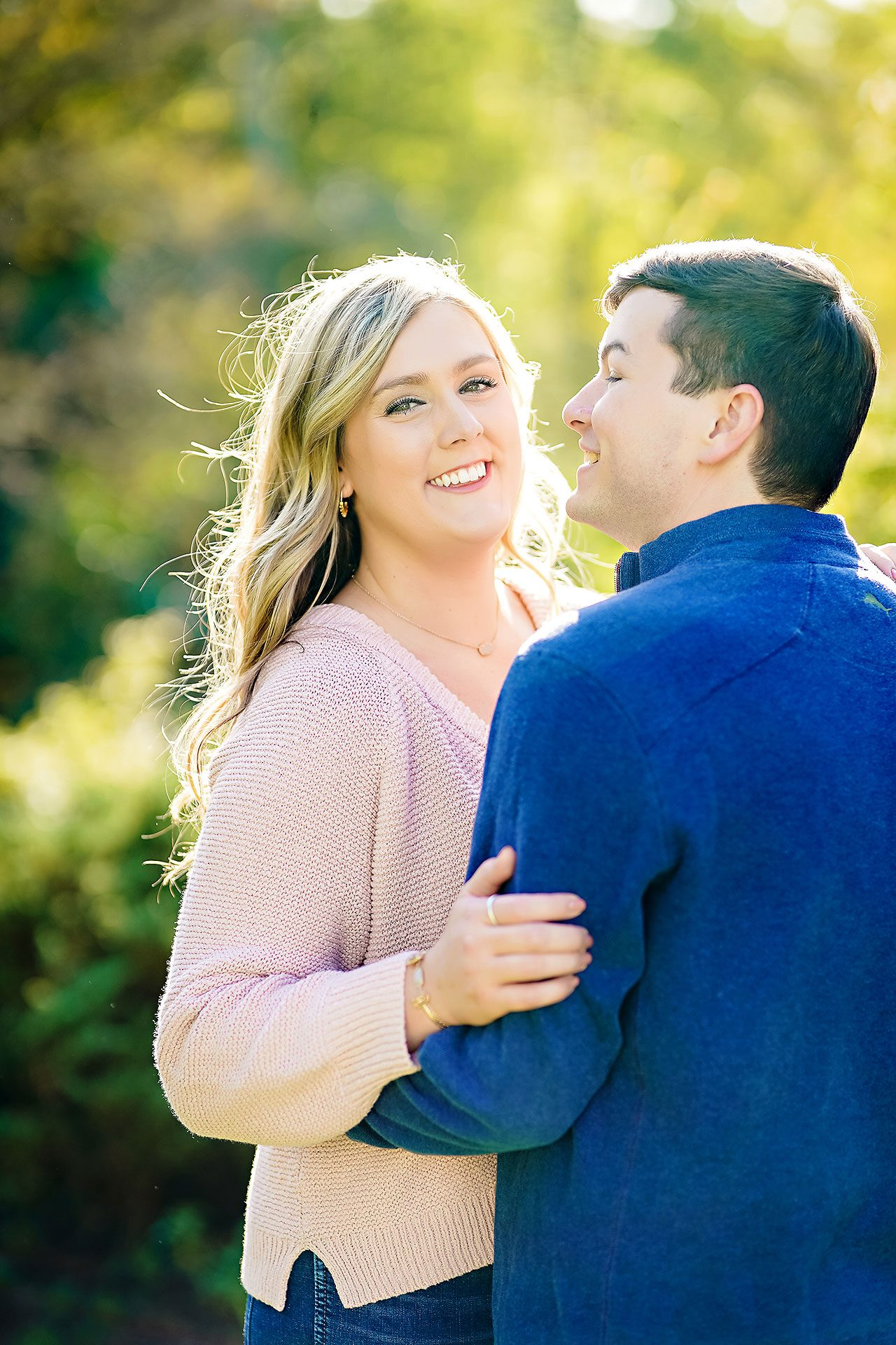 Taylor Case Newfields Engagement Session 149