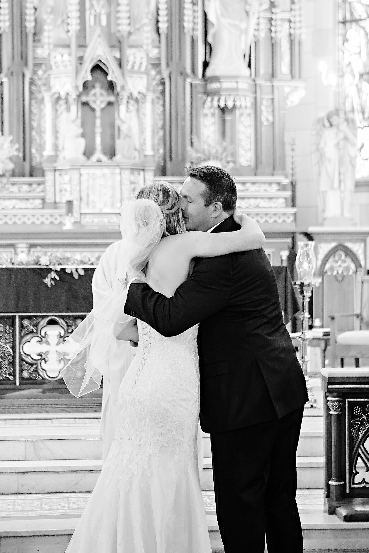 Courtney Areyan Sacred Heart and DAmore Indianapolis Wedding 089
