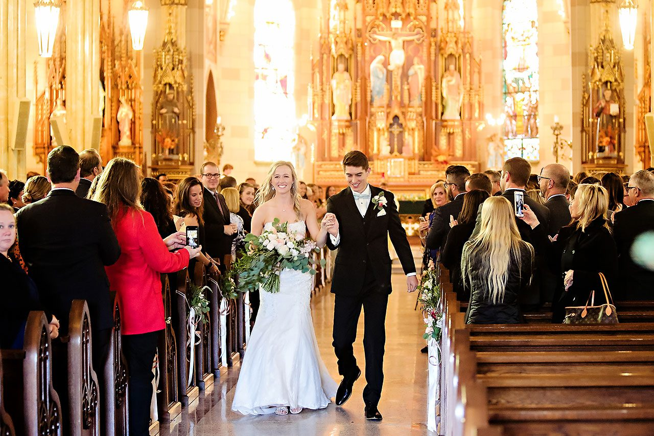 Courtney Areyan Sacred Heart and DAmore Indianapolis Wedding 101
