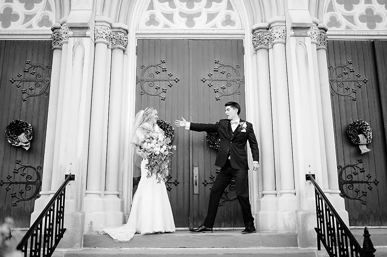 Courtney Areyan Sacred Heart and DAmore Indianapolis Wedding 116