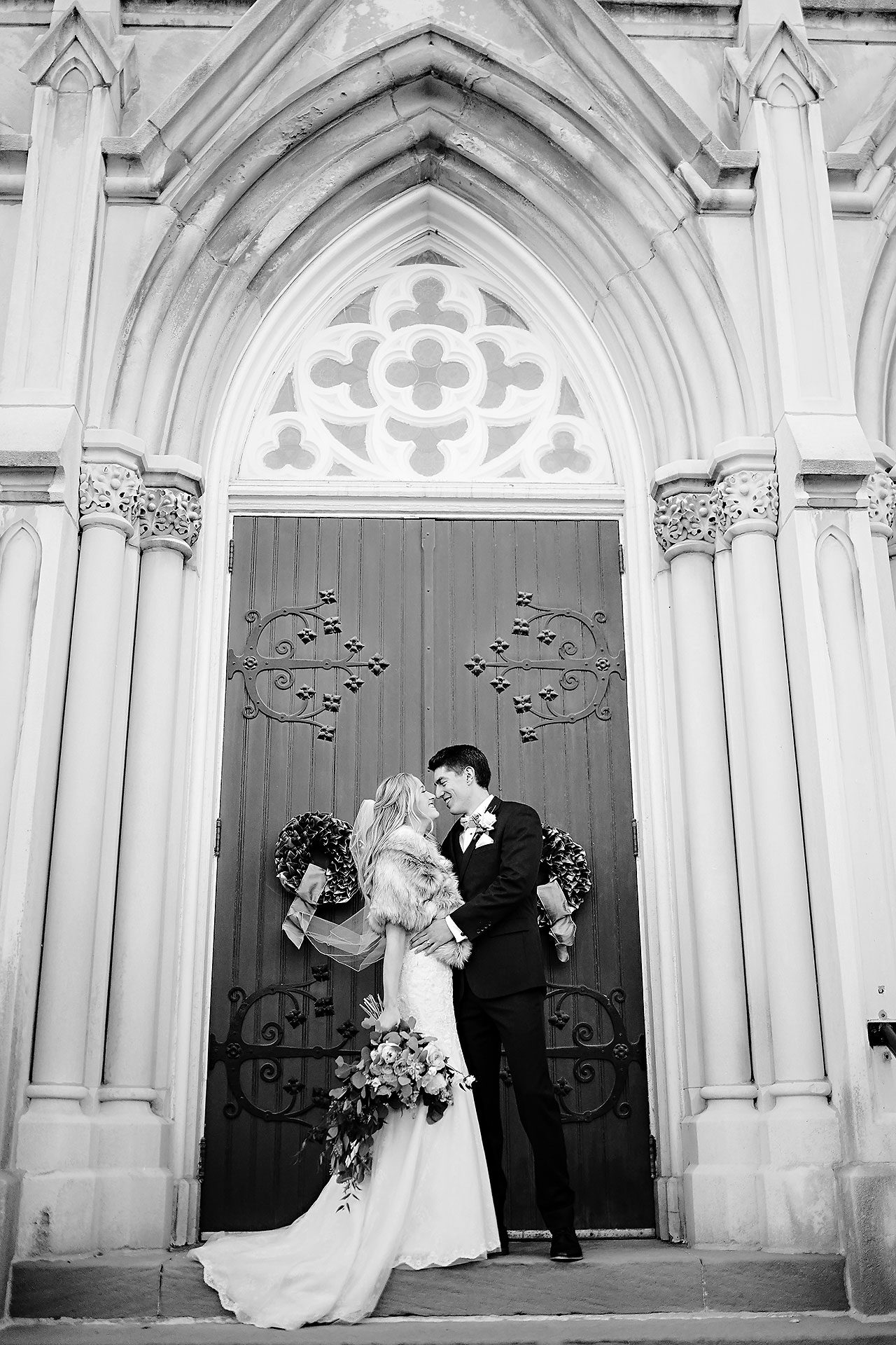 Courtney Areyan Sacred Heart and DAmore Indianapolis Wedding 119