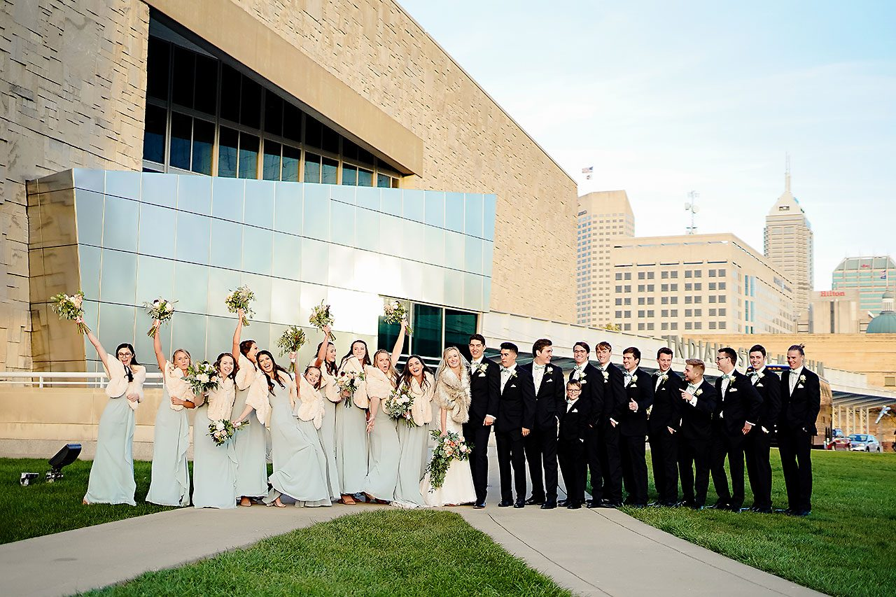 Courtney Areyan Sacred Heart and DAmore Indianapolis Wedding 127