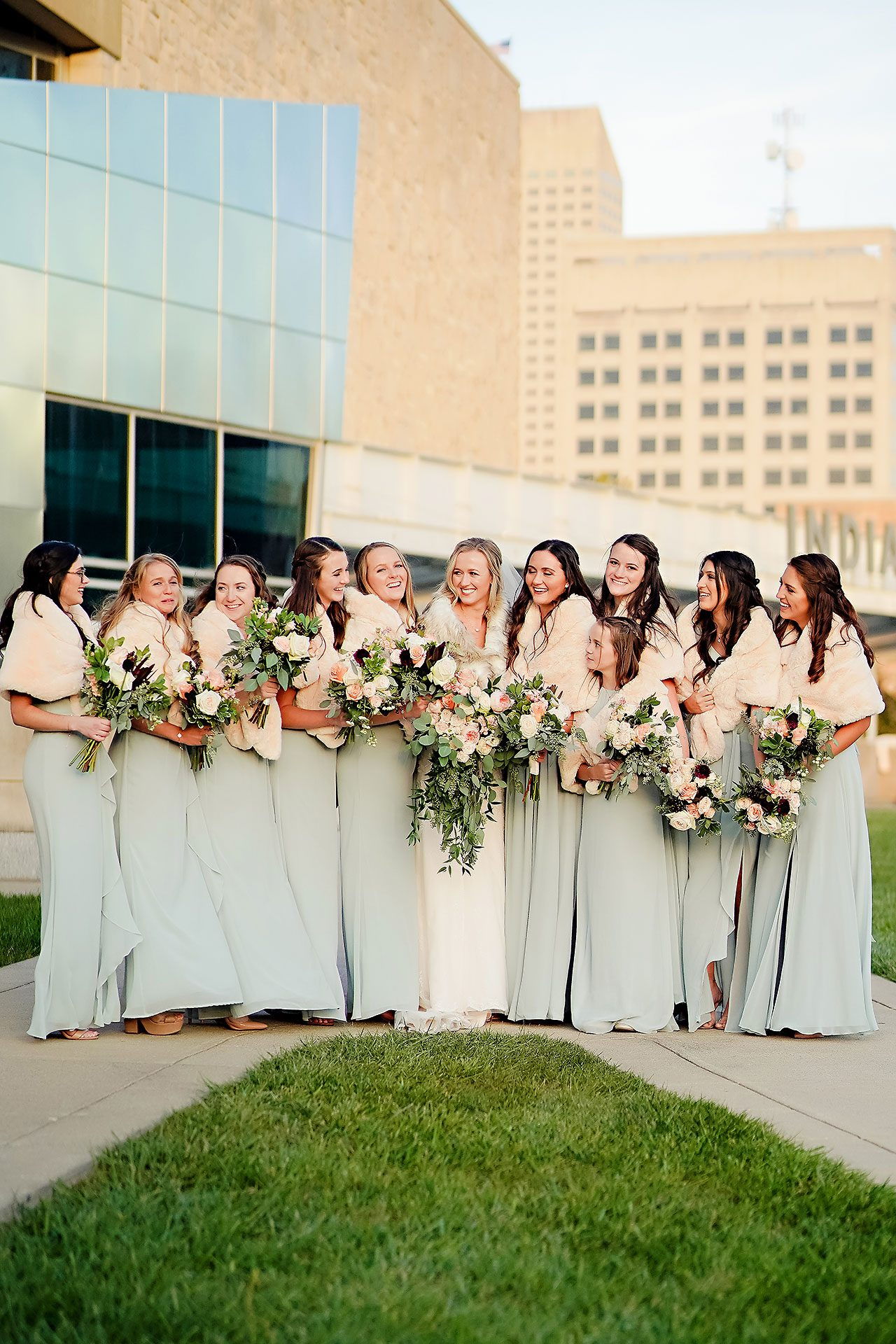 Courtney Areyan Sacred Heart and DAmore Indianapolis Wedding 180
