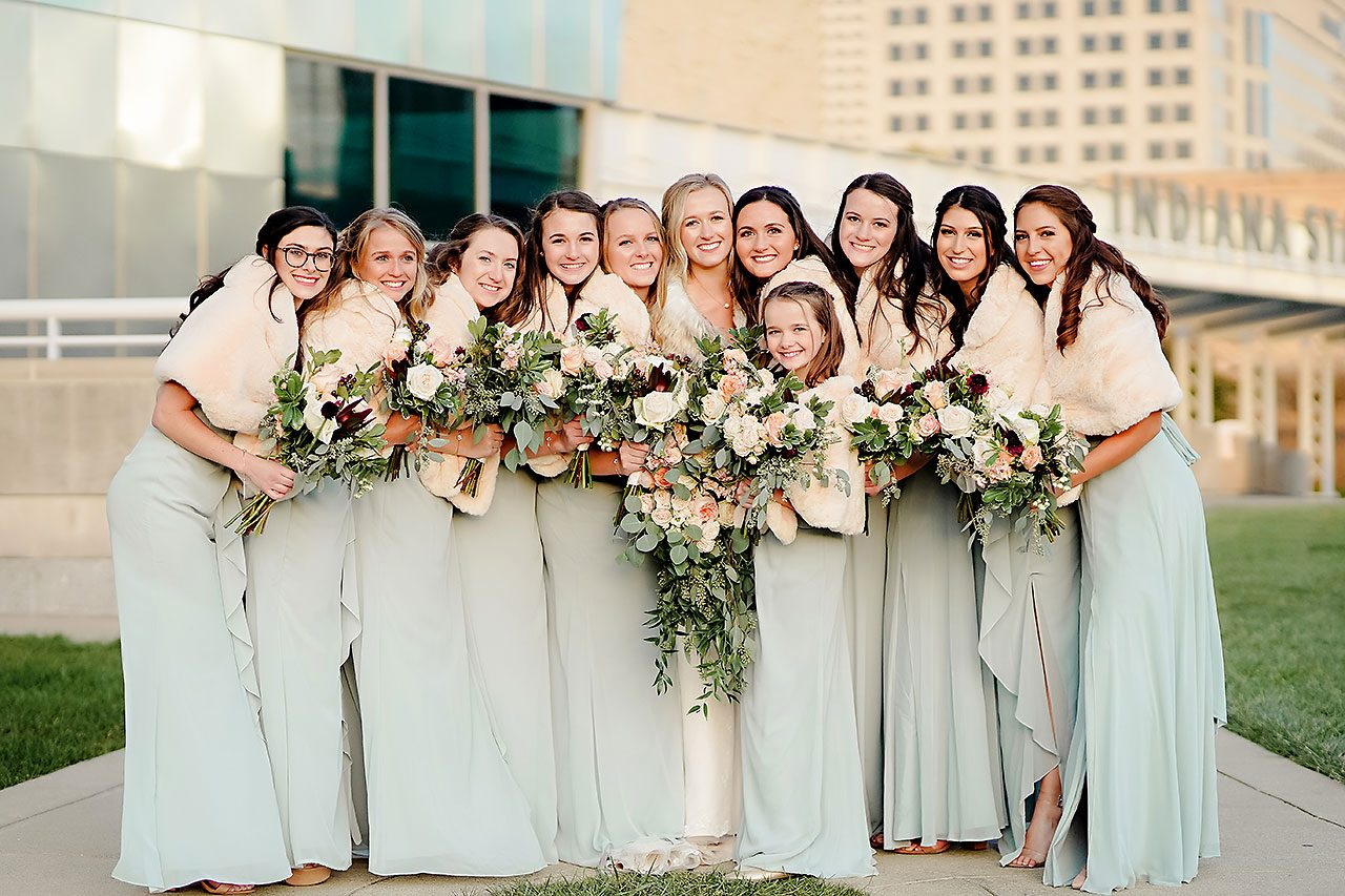 Courtney Areyan Sacred Heart and DAmore Indianapolis Wedding 188