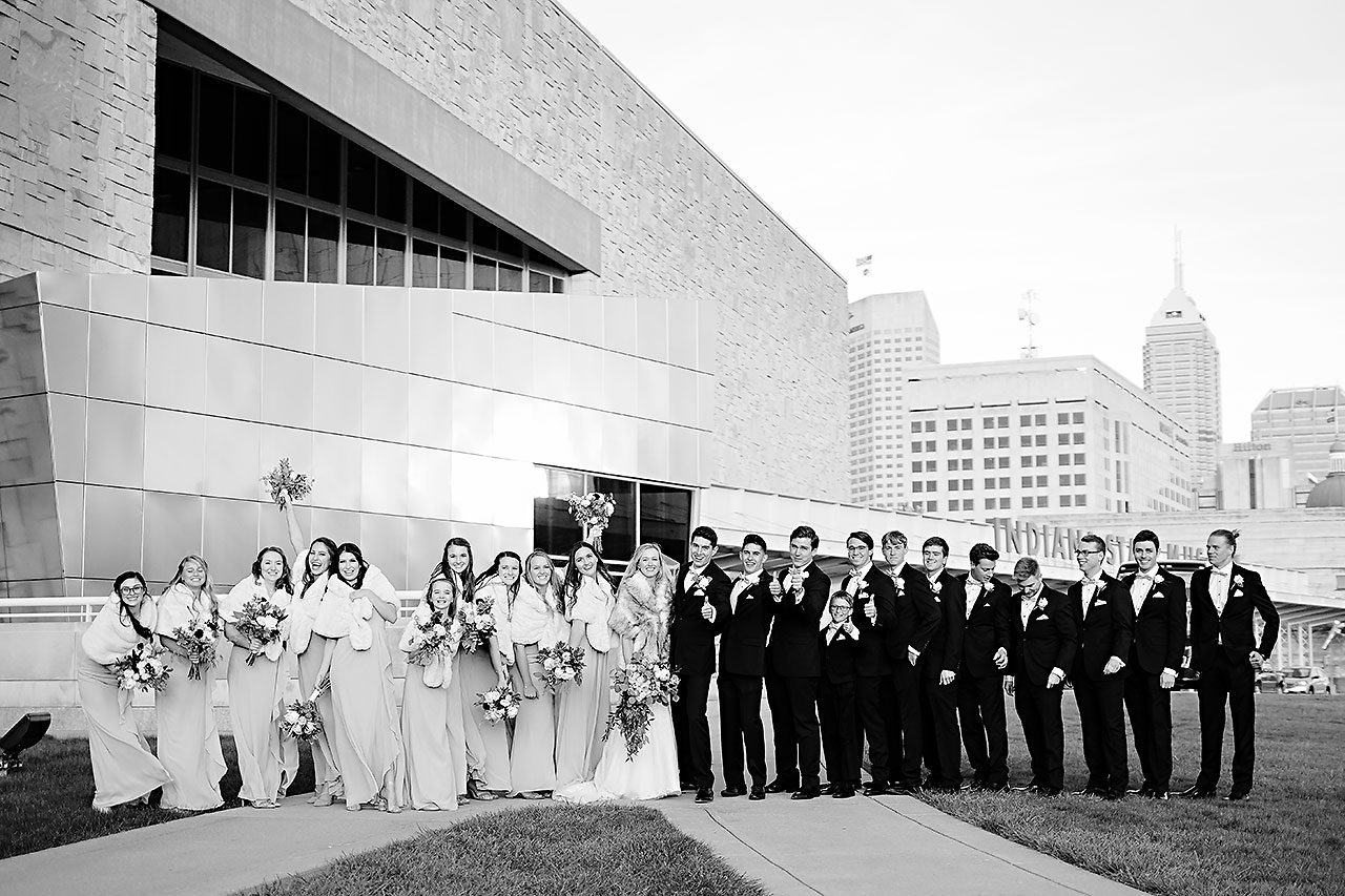 Courtney Areyan Sacred Heart and DAmore Indianapolis Wedding 191