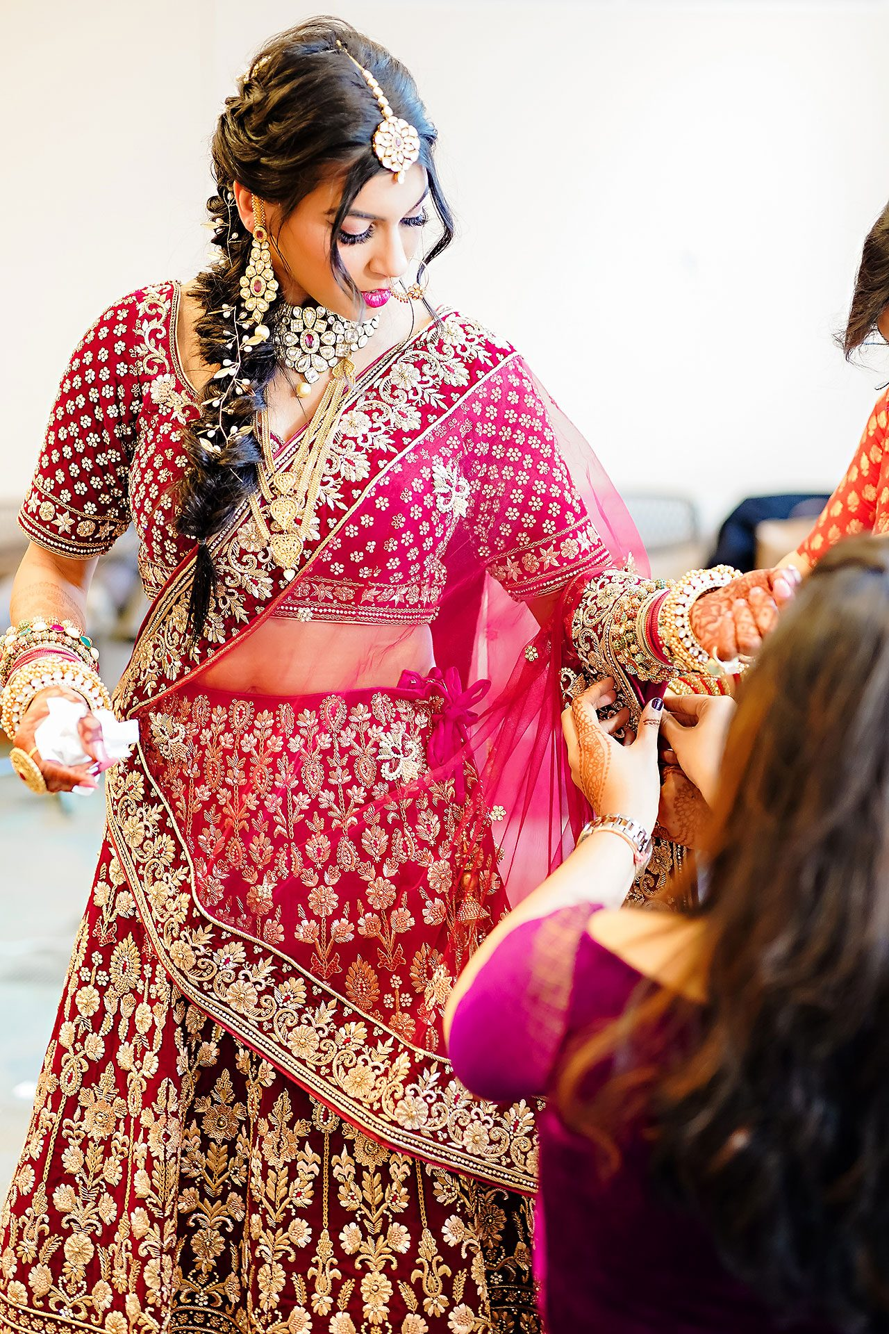 Ritika Jason Chinese Indian Fusion Wedding Ceremony 058