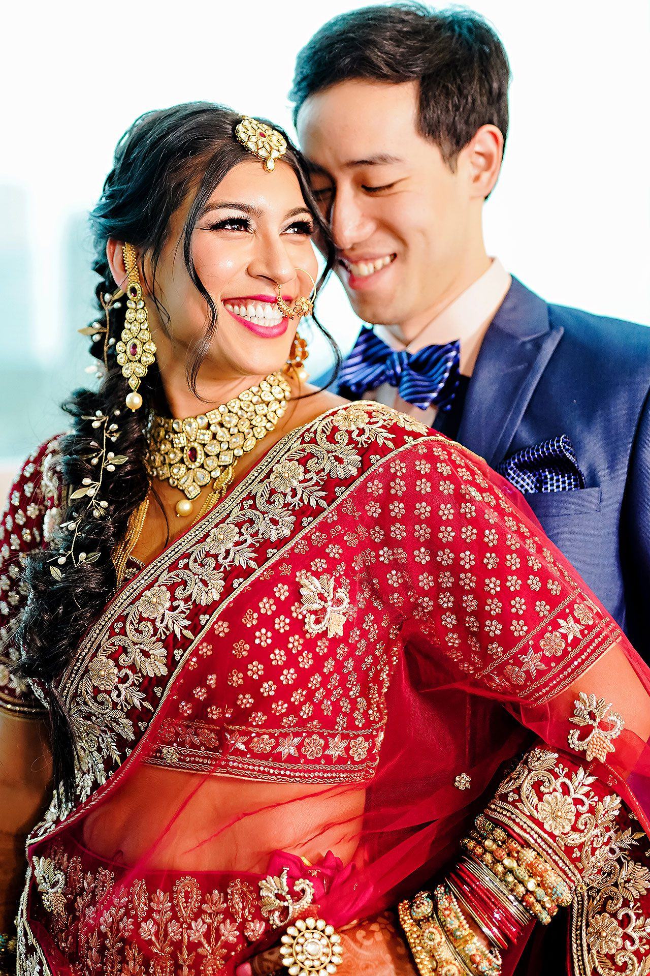 Ritika Jason Chinese Indian Fusion Wedding Ceremony 104