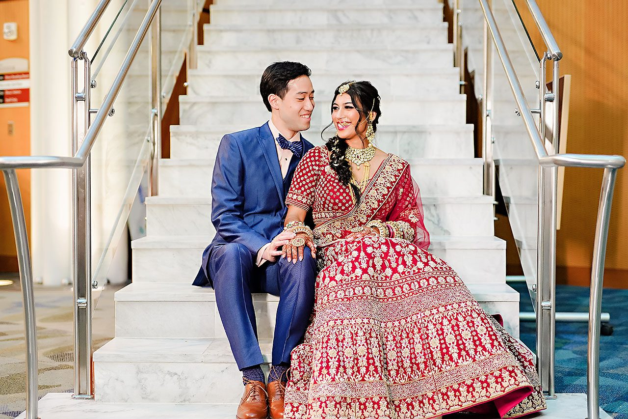 Ritika Jason Chinese Indian Fusion Wedding Ceremony 106