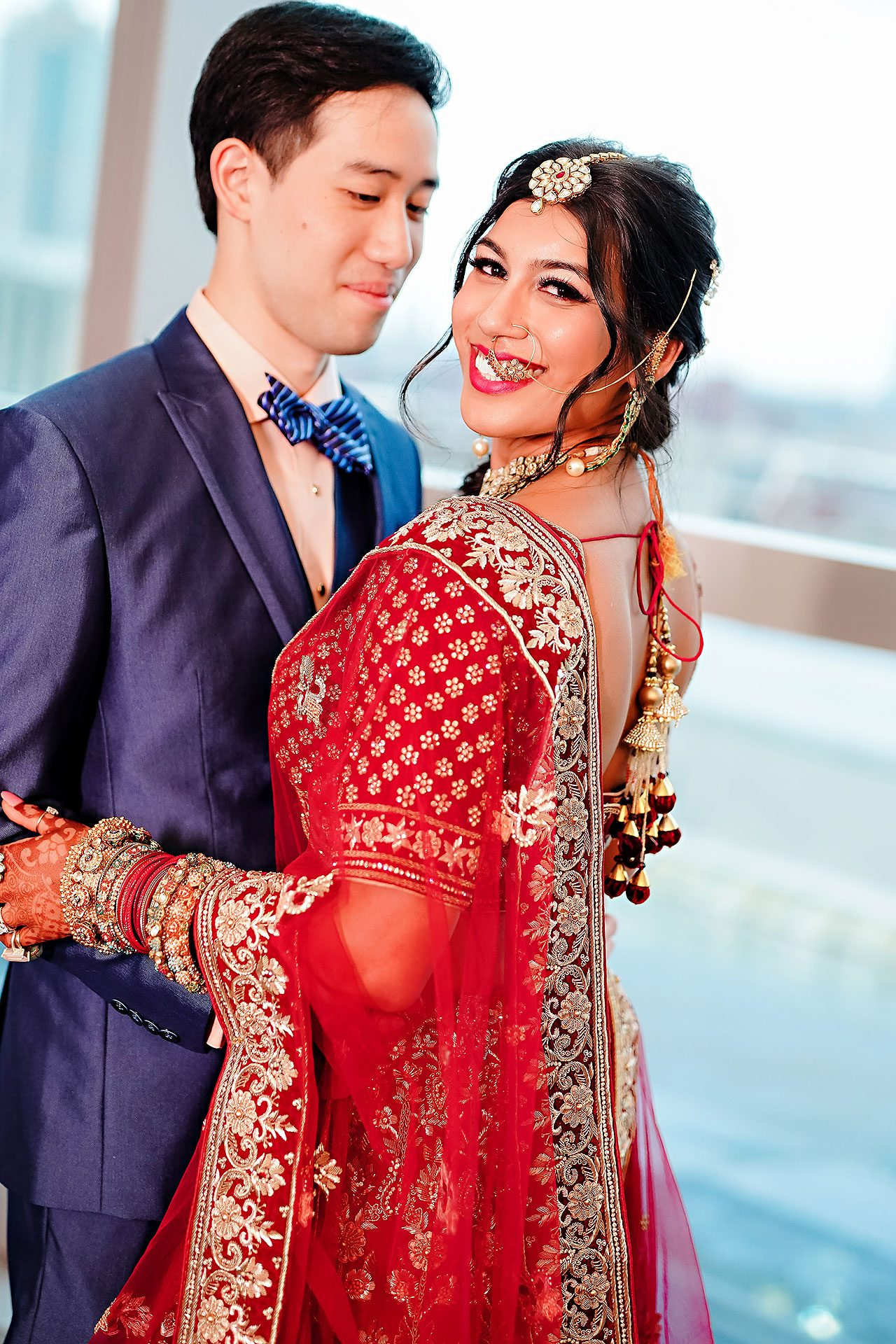 Ritika Jason Chinese Indian Fusion Wedding Ceremony 112