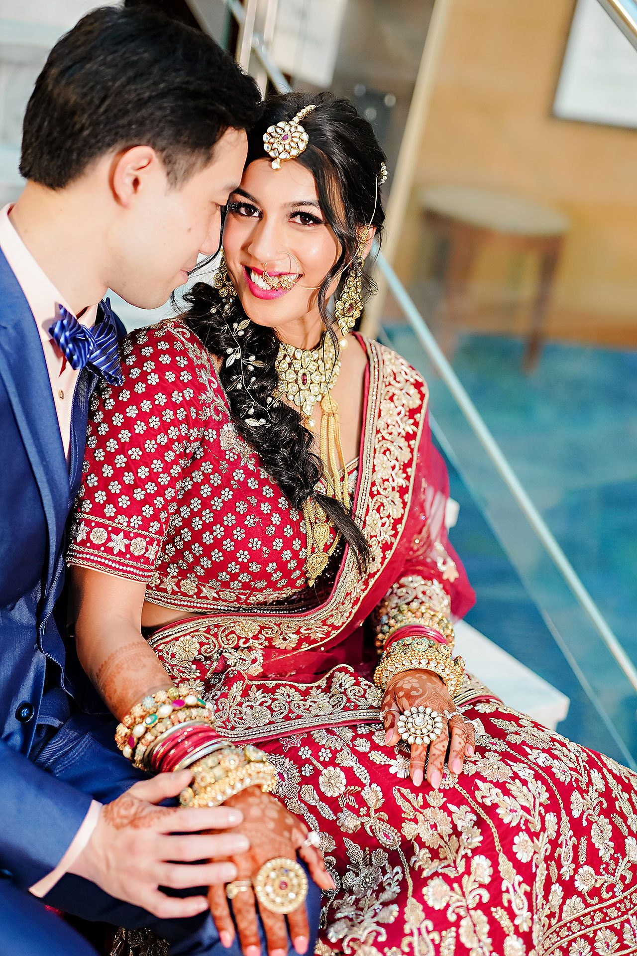 Ritika Jason Chinese Indian Fusion Wedding Ceremony 115