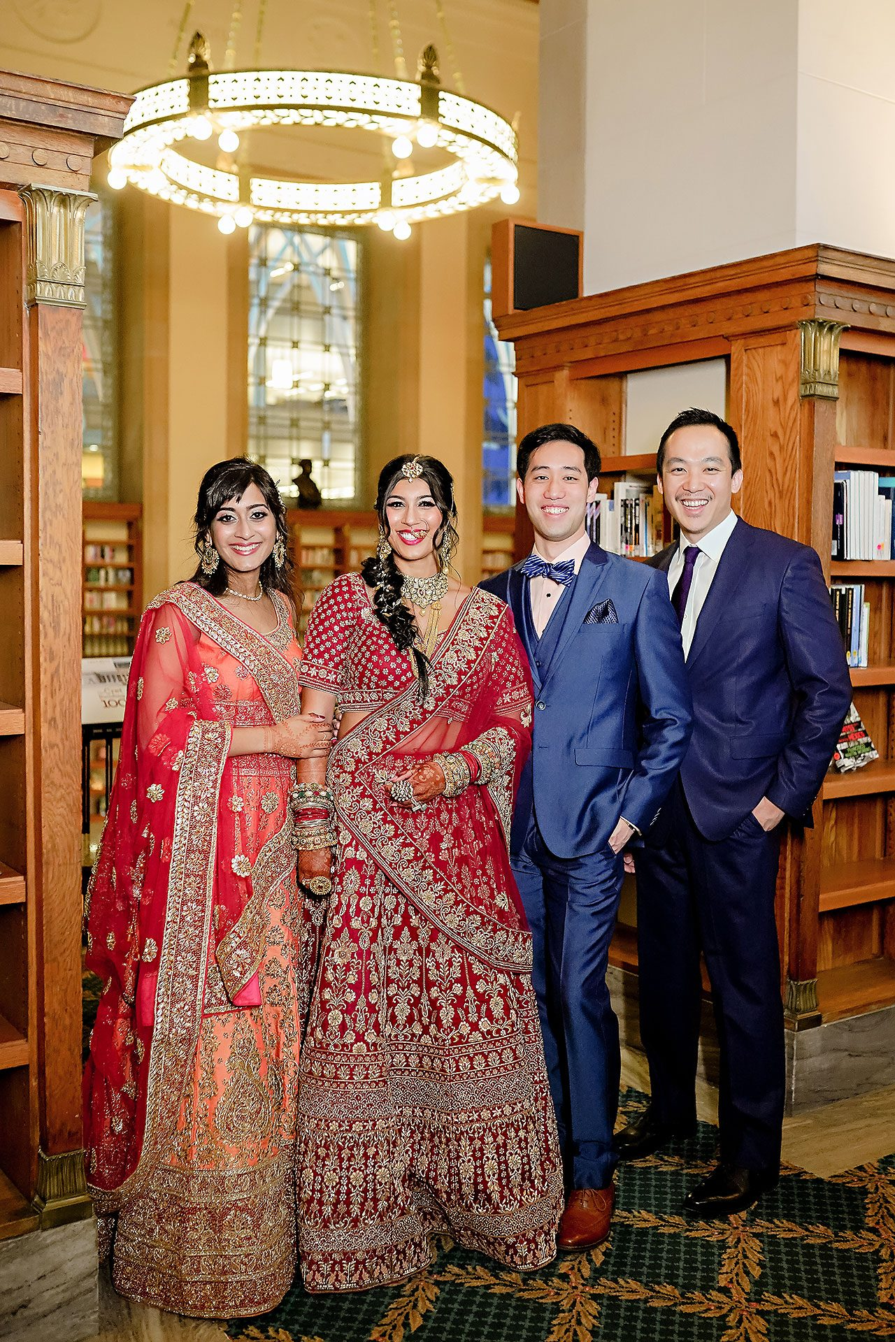 Ritika Jason Chinese Indian Fusion Wedding Ceremony 124