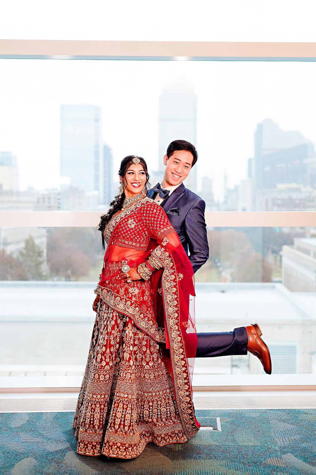 Ritika Jason Chinese Indian Fusion Wedding Ceremony 125