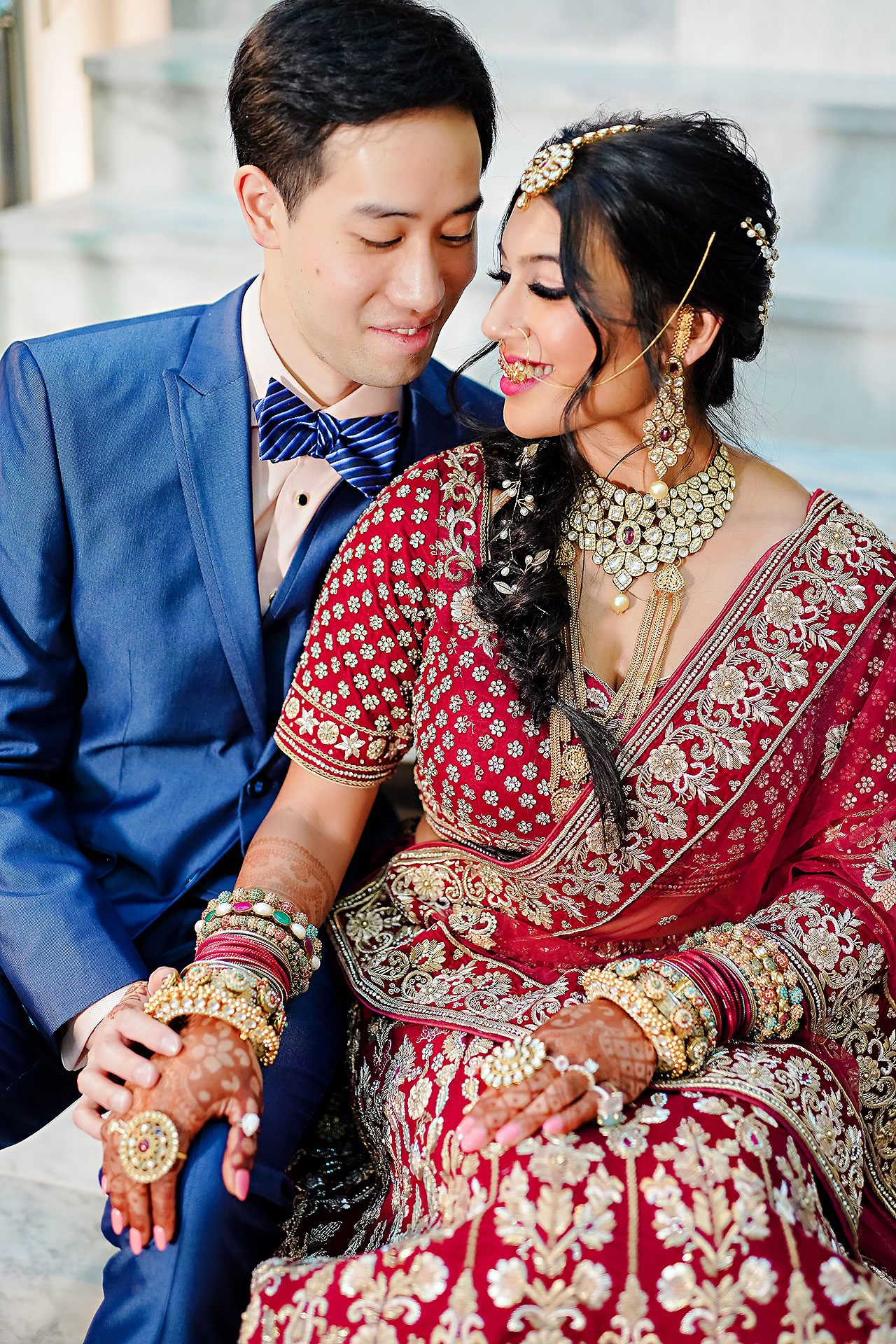 Ritika Jason Chinese Indian Fusion Wedding Ceremony 126