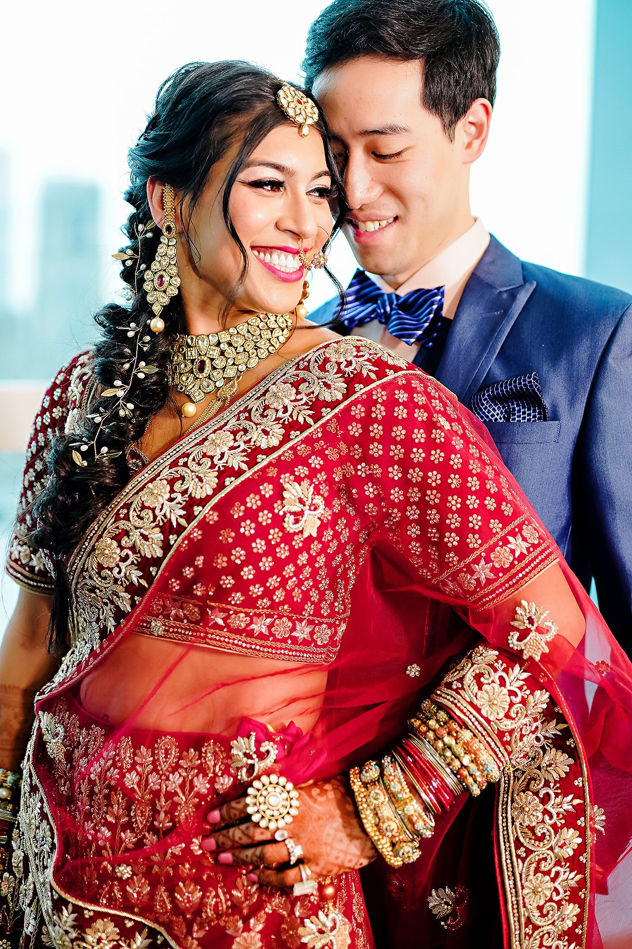 Ritika Jason Chinese Indian Fusion Wedding Ceremony 128