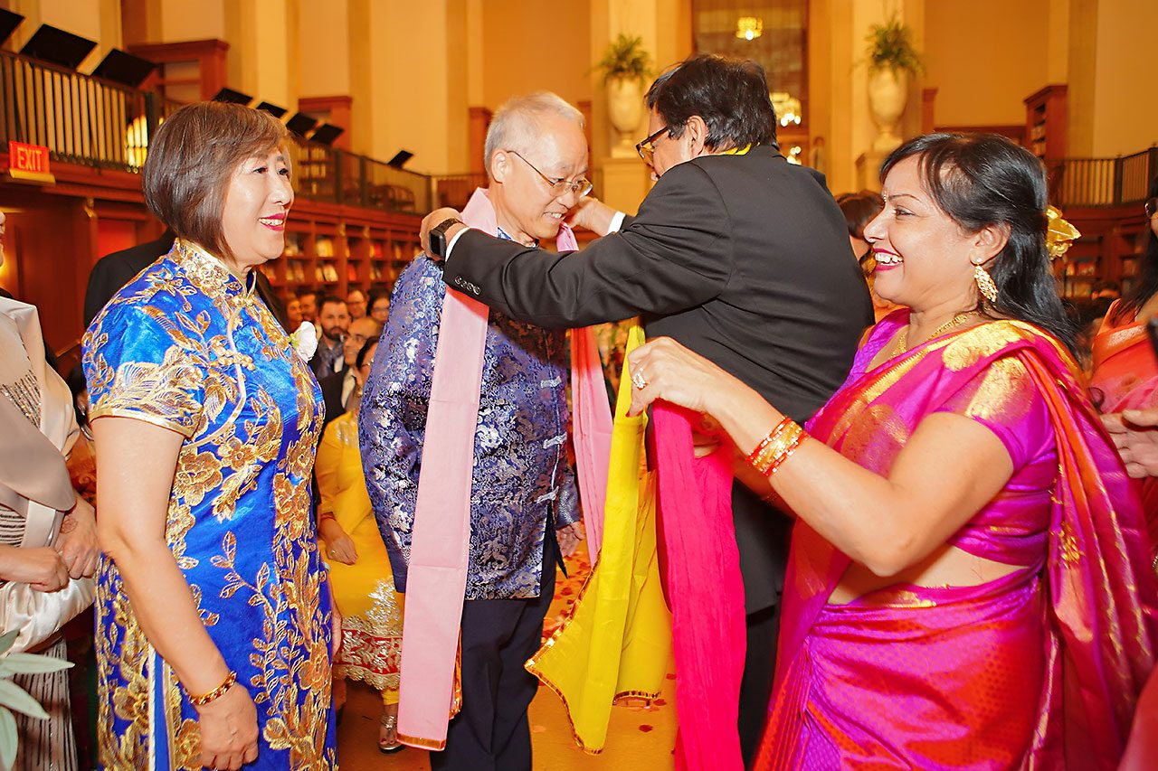 Ritika Jason Chinese Indian Fusion Wedding Ceremony 222