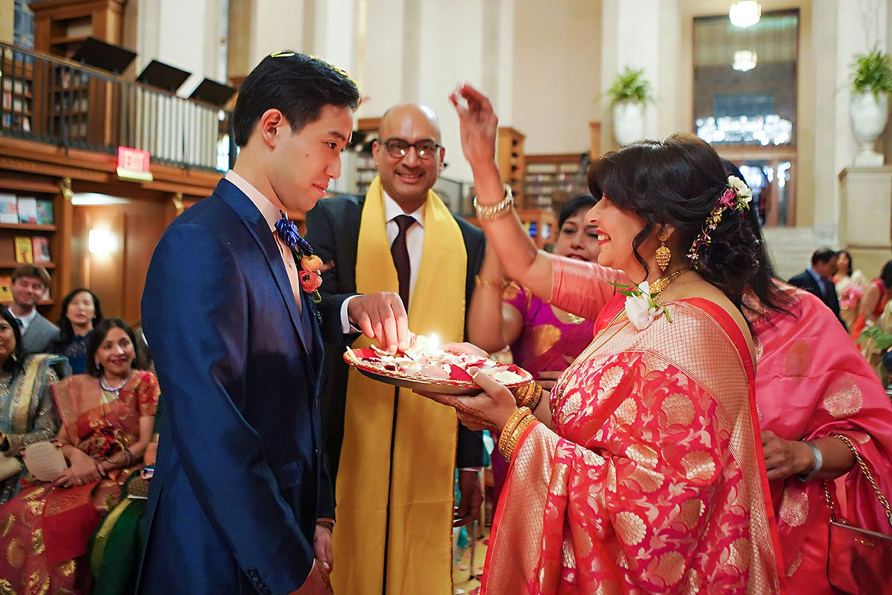 Ritika Jason Chinese Indian Fusion Wedding Ceremony 223