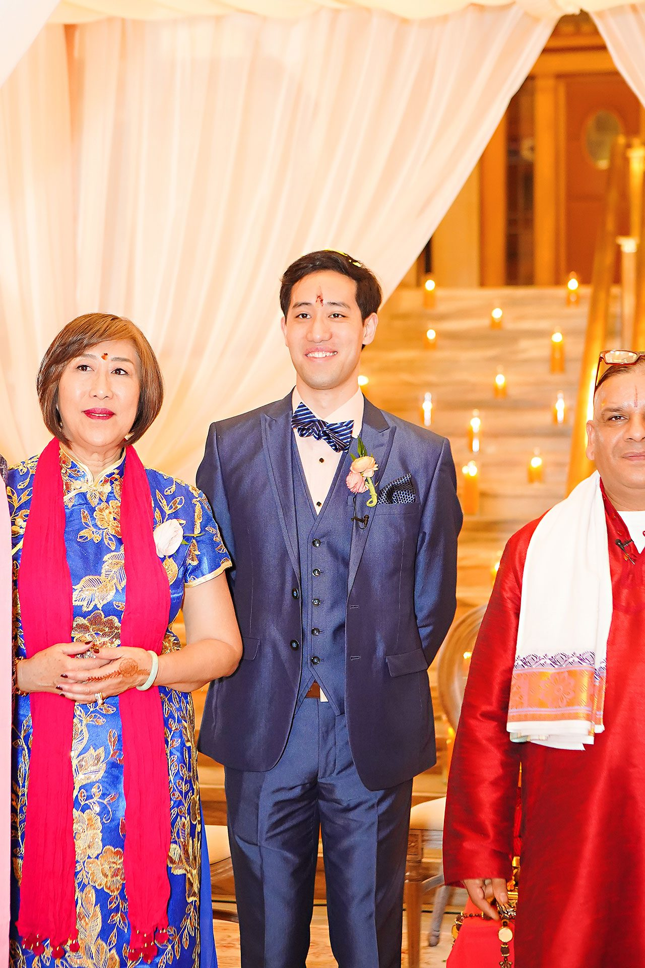 Ritika Jason Chinese Indian Fusion Wedding Ceremony 234