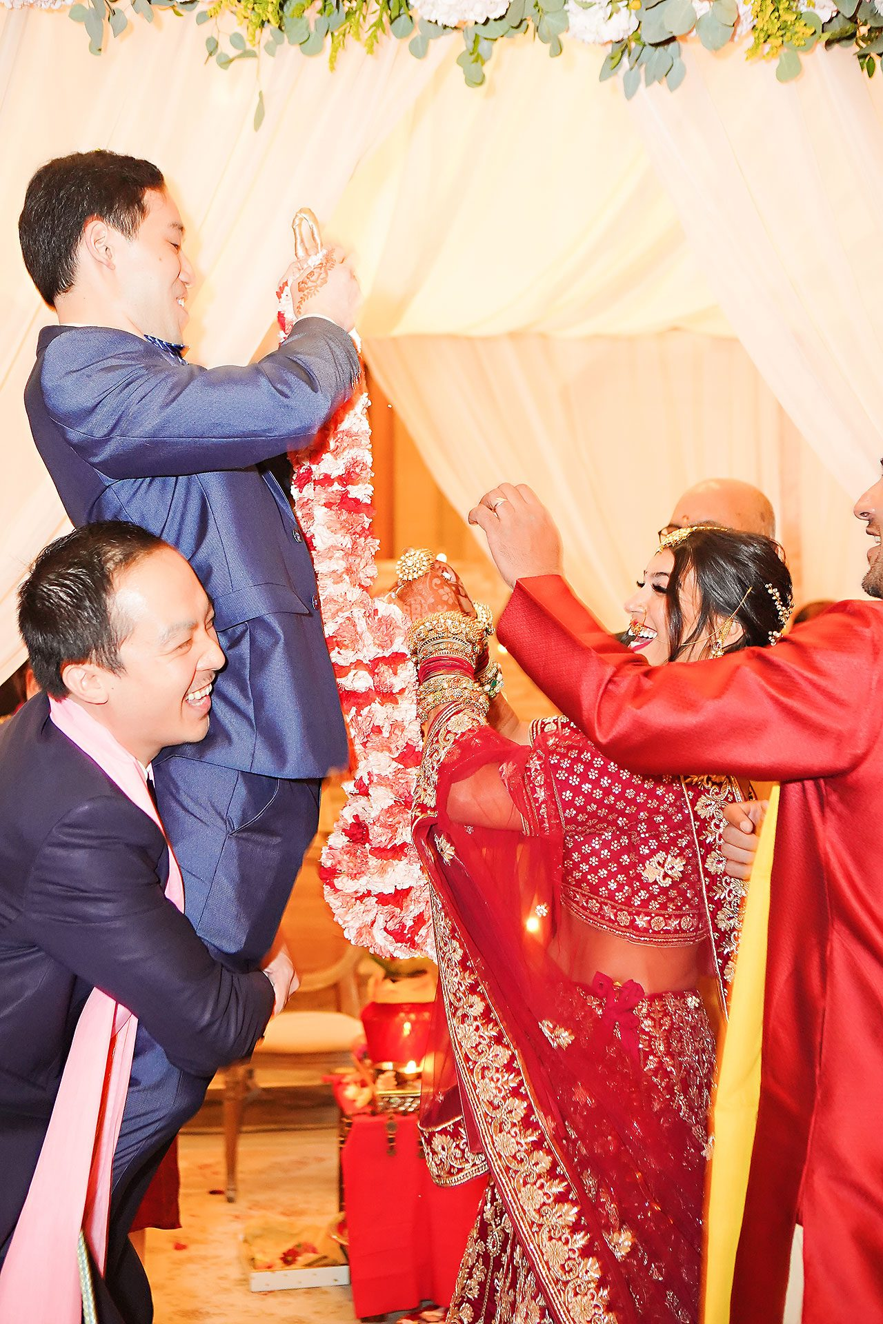 Ritika Jason Chinese Indian Fusion Wedding Ceremony 239