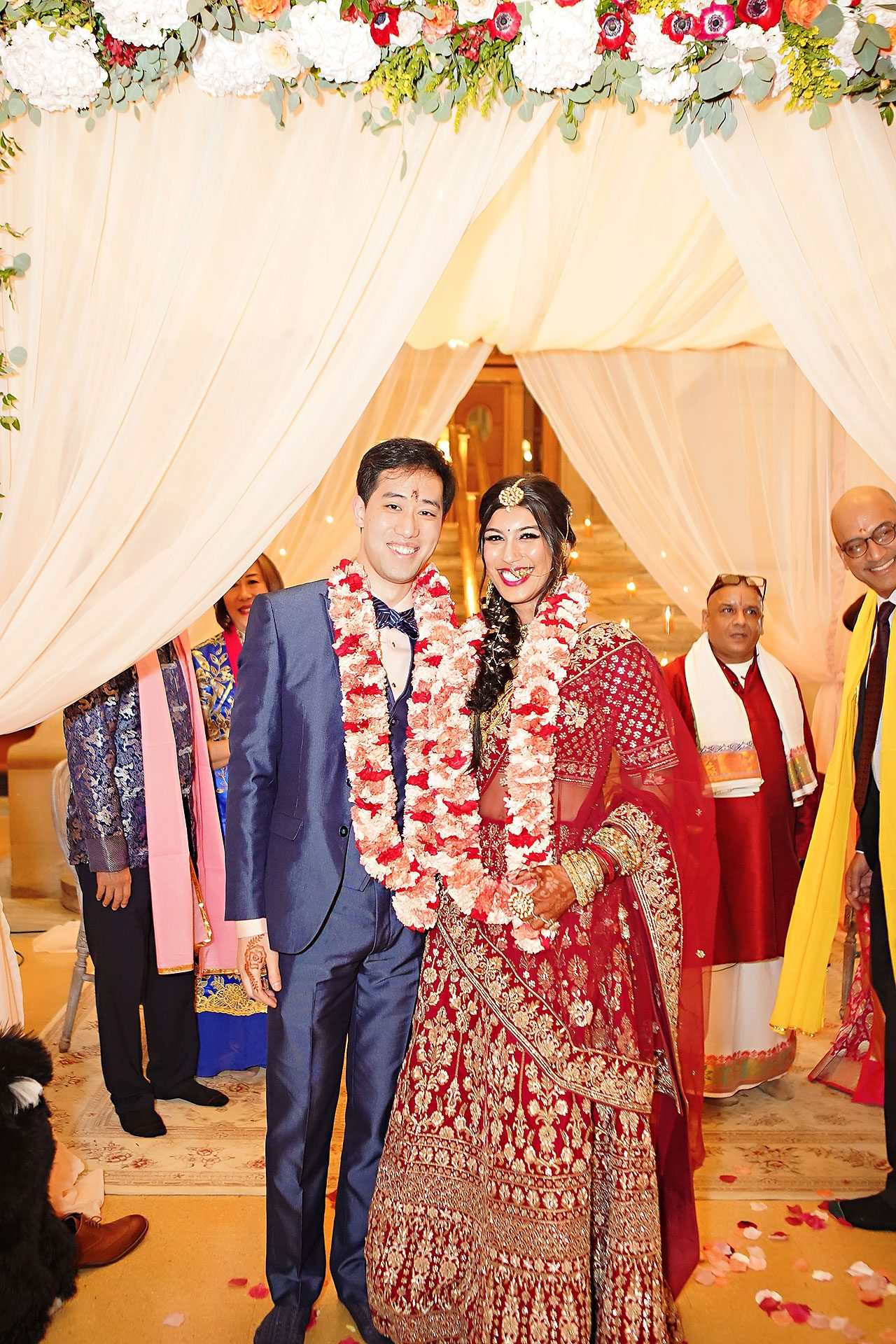 Ritika Jason Chinese Indian Fusion Wedding Ceremony 243