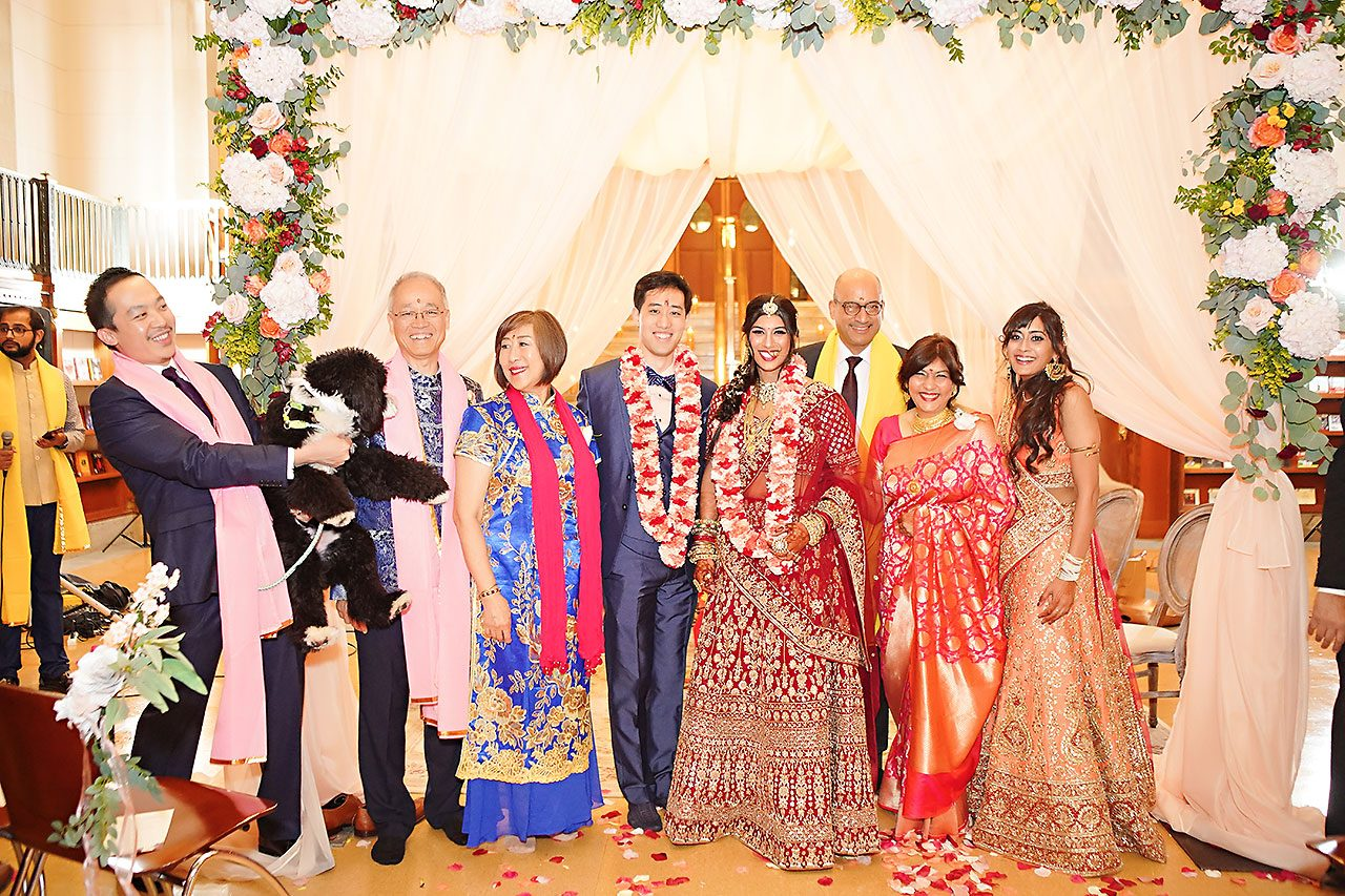 Ritika Jason Chinese Indian Fusion Wedding Ceremony 244