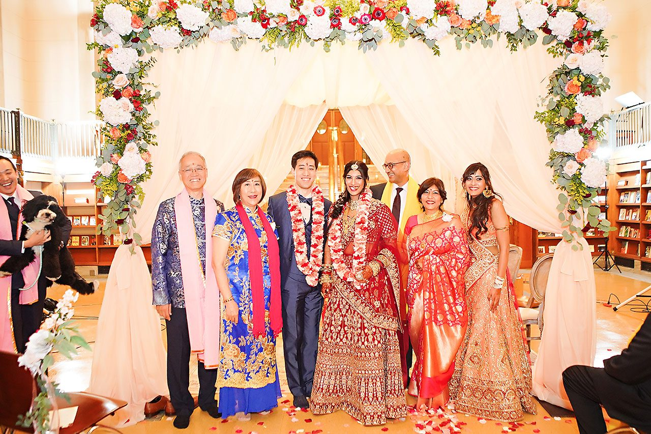 Ritika Jason Chinese Indian Fusion Wedding Ceremony 245