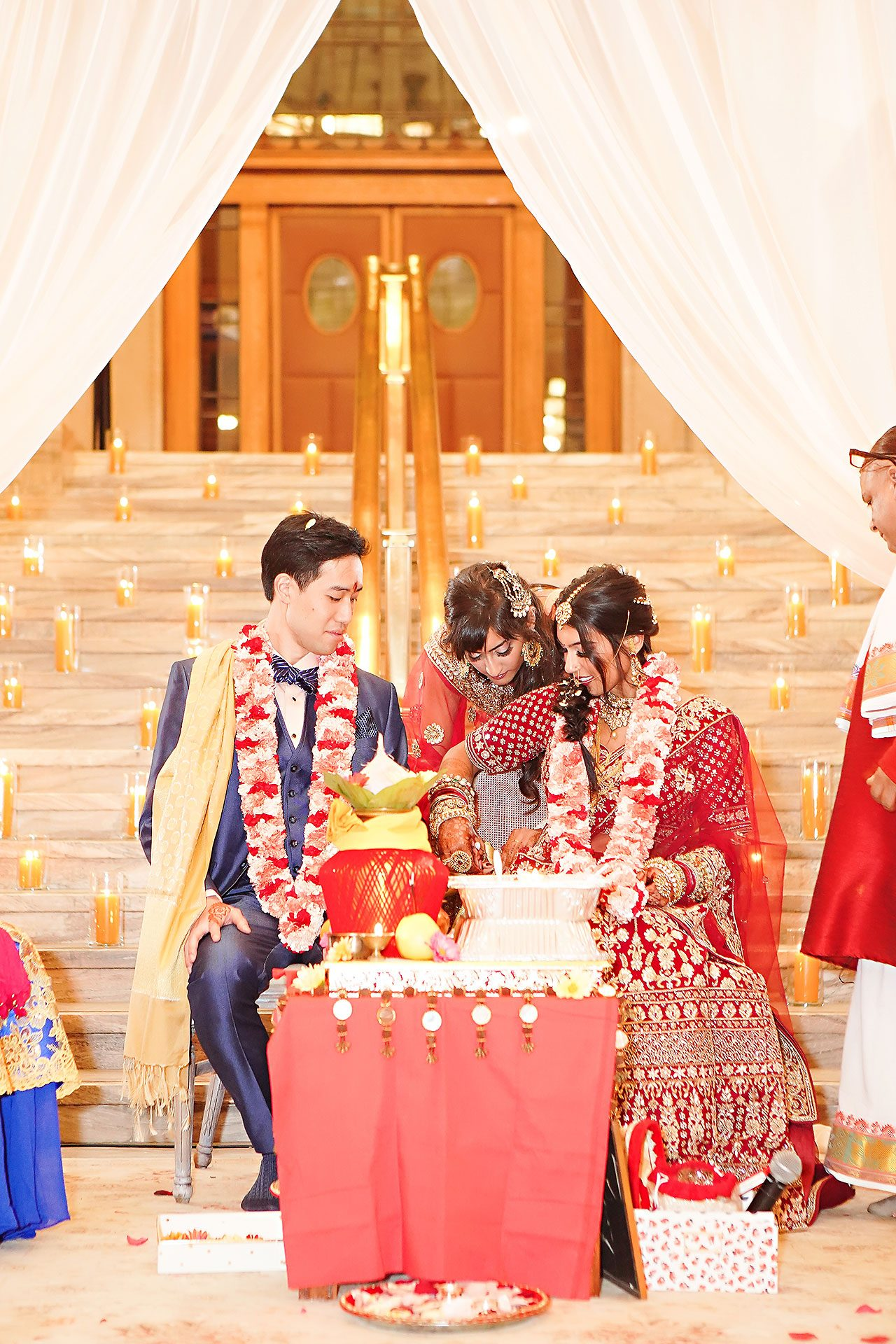 Ritika Jason Chinese Indian Fusion Wedding Ceremony 247