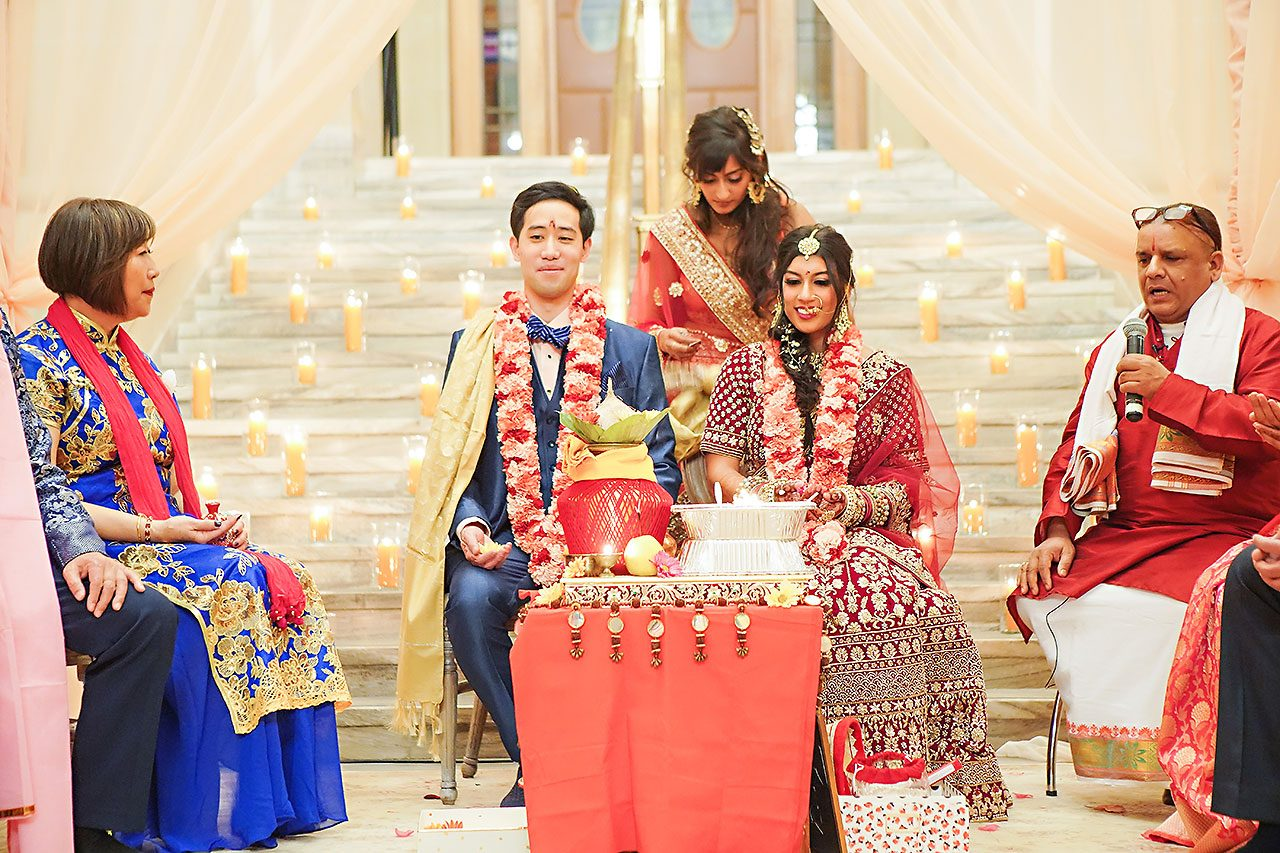 Ritika Jason Chinese Indian Fusion Wedding Ceremony 249
