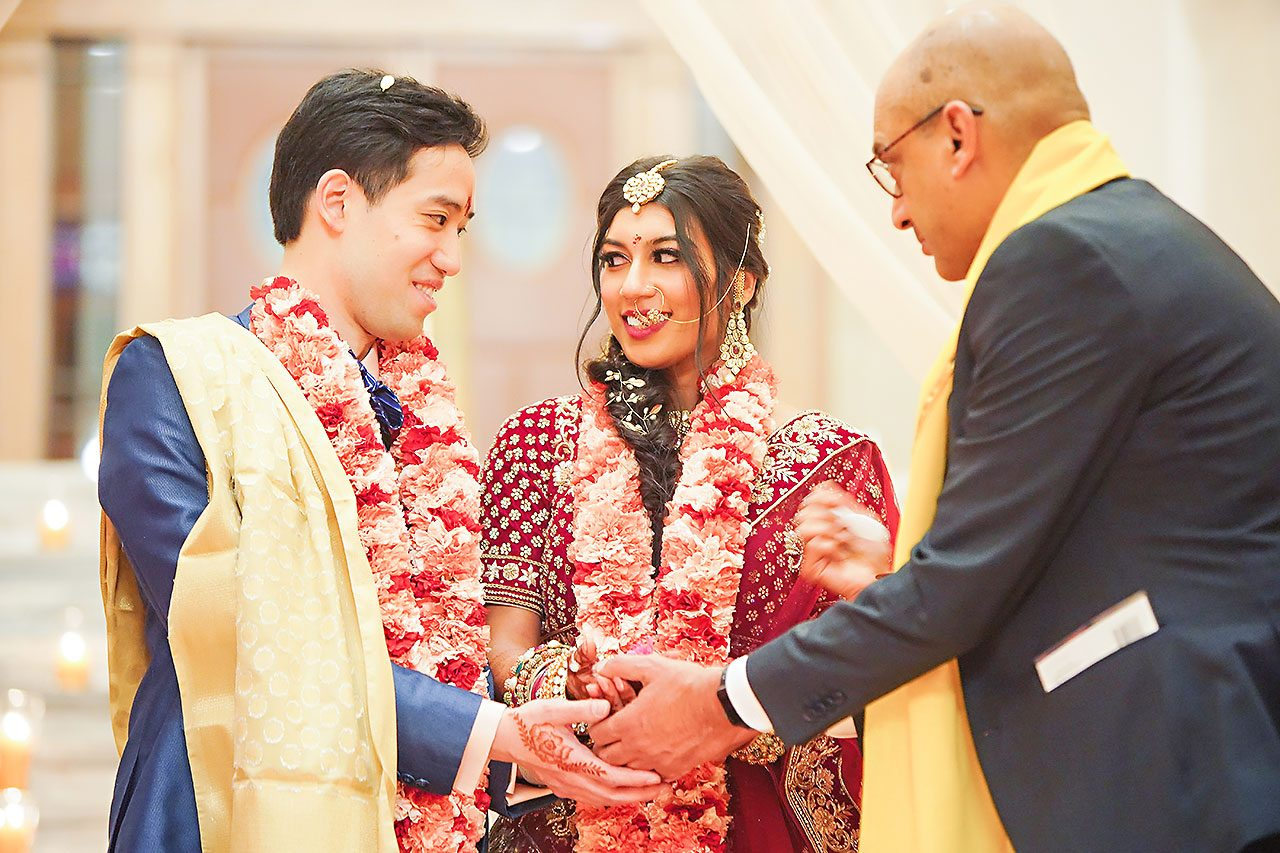Ritika Jason Chinese Indian Fusion Wedding Ceremony 251