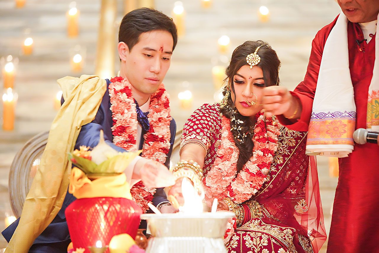 Ritika Jason Chinese Indian Fusion Wedding Ceremony 253