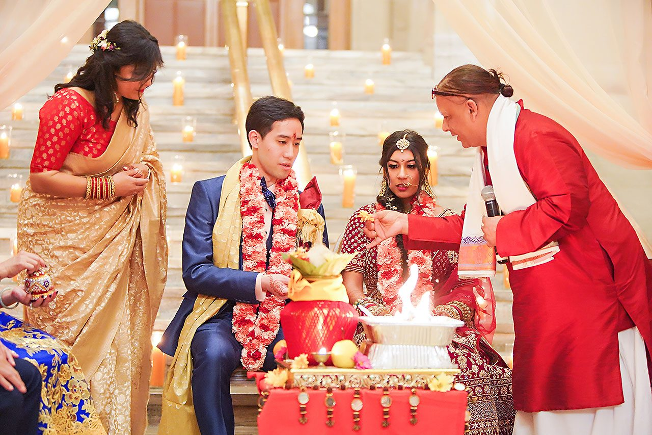 Ritika Jason Chinese Indian Fusion Wedding Ceremony 255