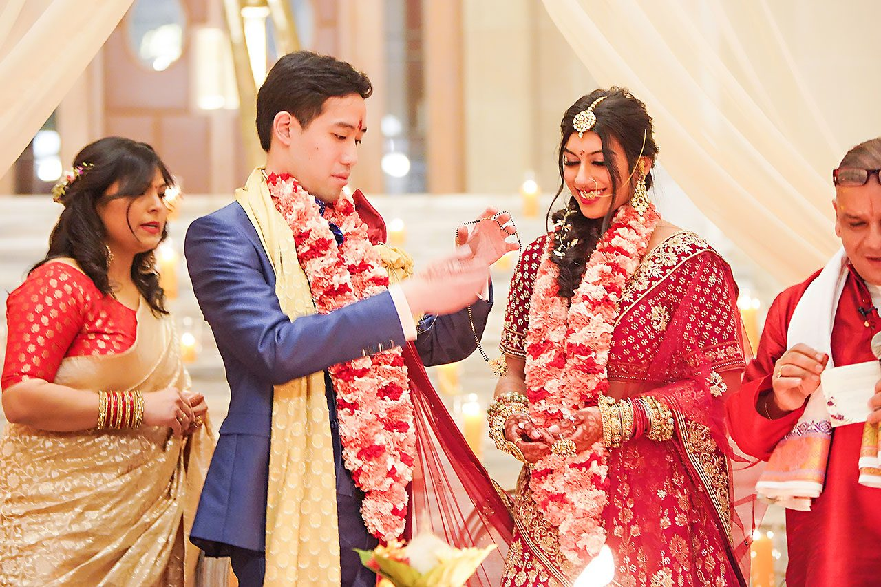 Ritika Jason Chinese Indian Fusion Wedding Ceremony 256