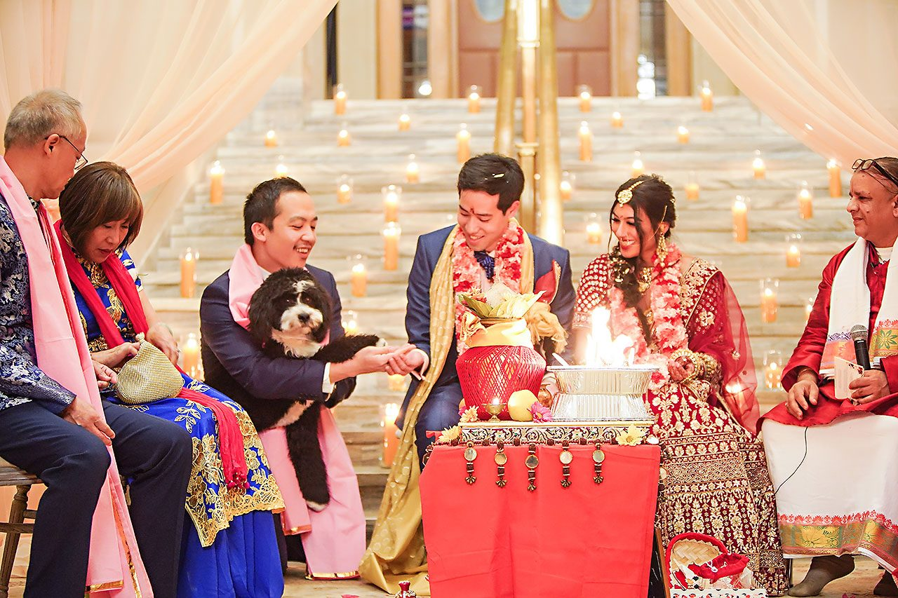 Ritika Jason Chinese Indian Fusion Wedding Ceremony 258