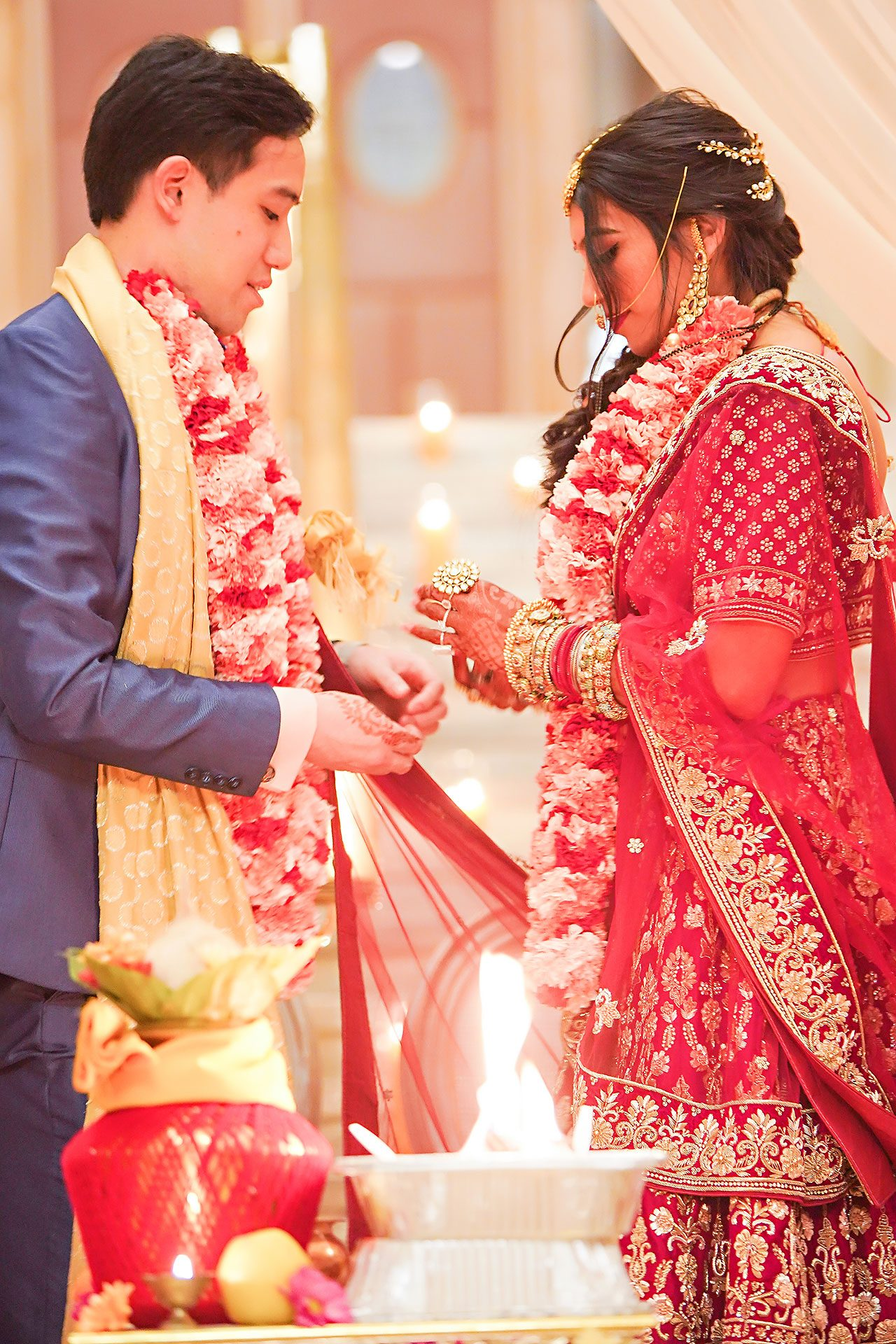 Ritika Jason Chinese Indian Fusion Wedding Ceremony 259