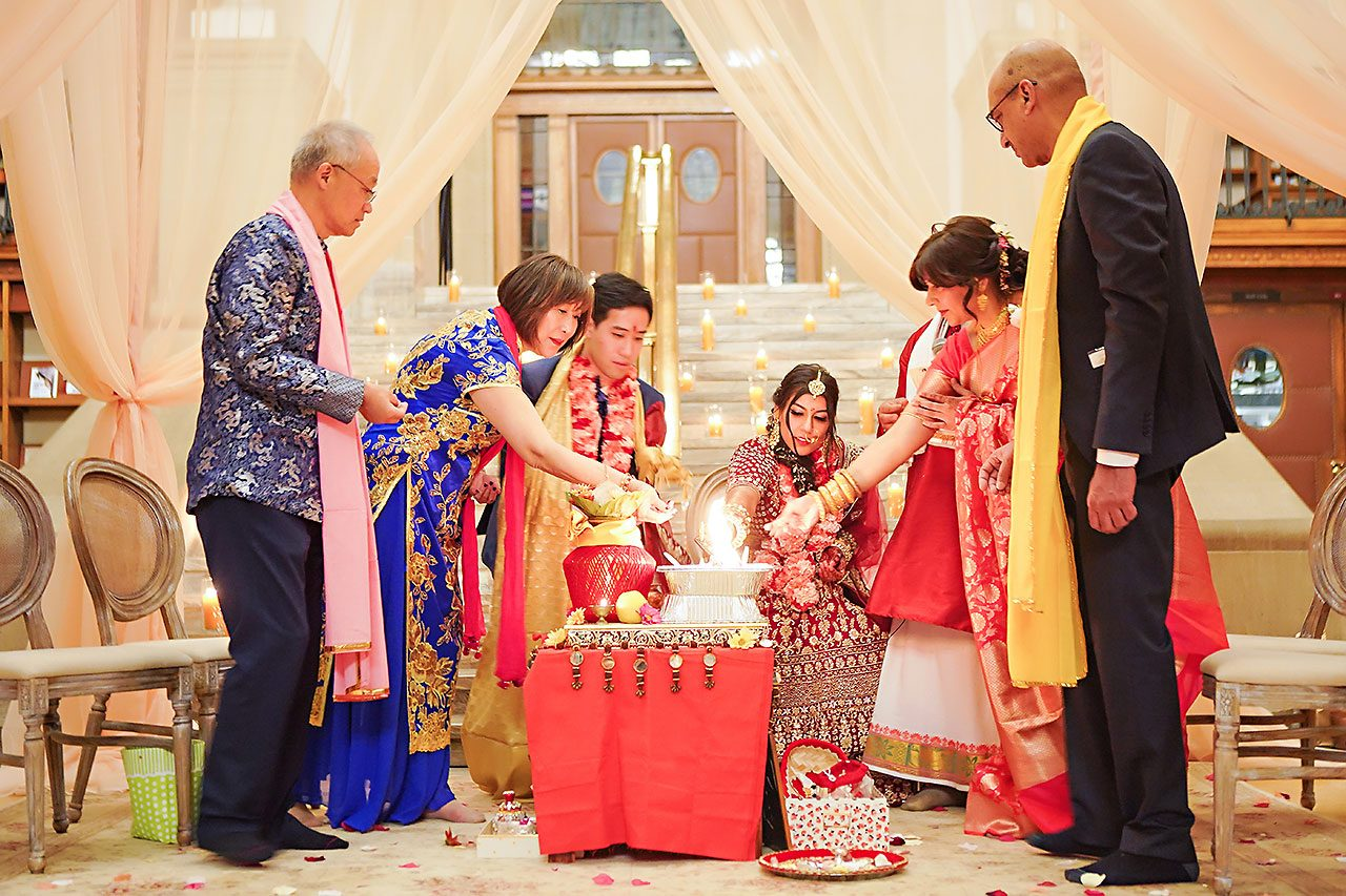 Ritika Jason Chinese Indian Fusion Wedding Ceremony 263