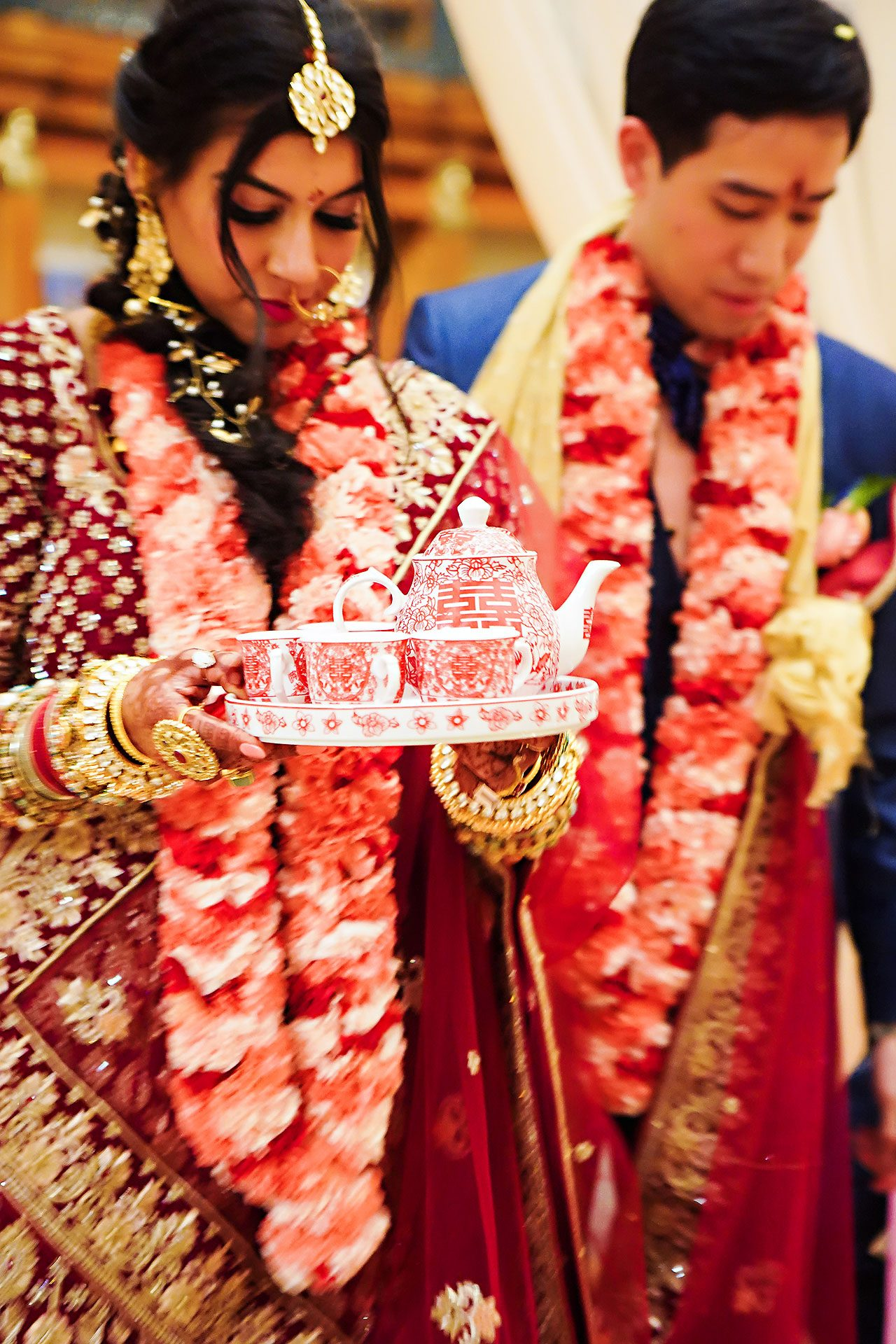 Ritika Jason Chinese Indian Fusion Wedding Ceremony 270