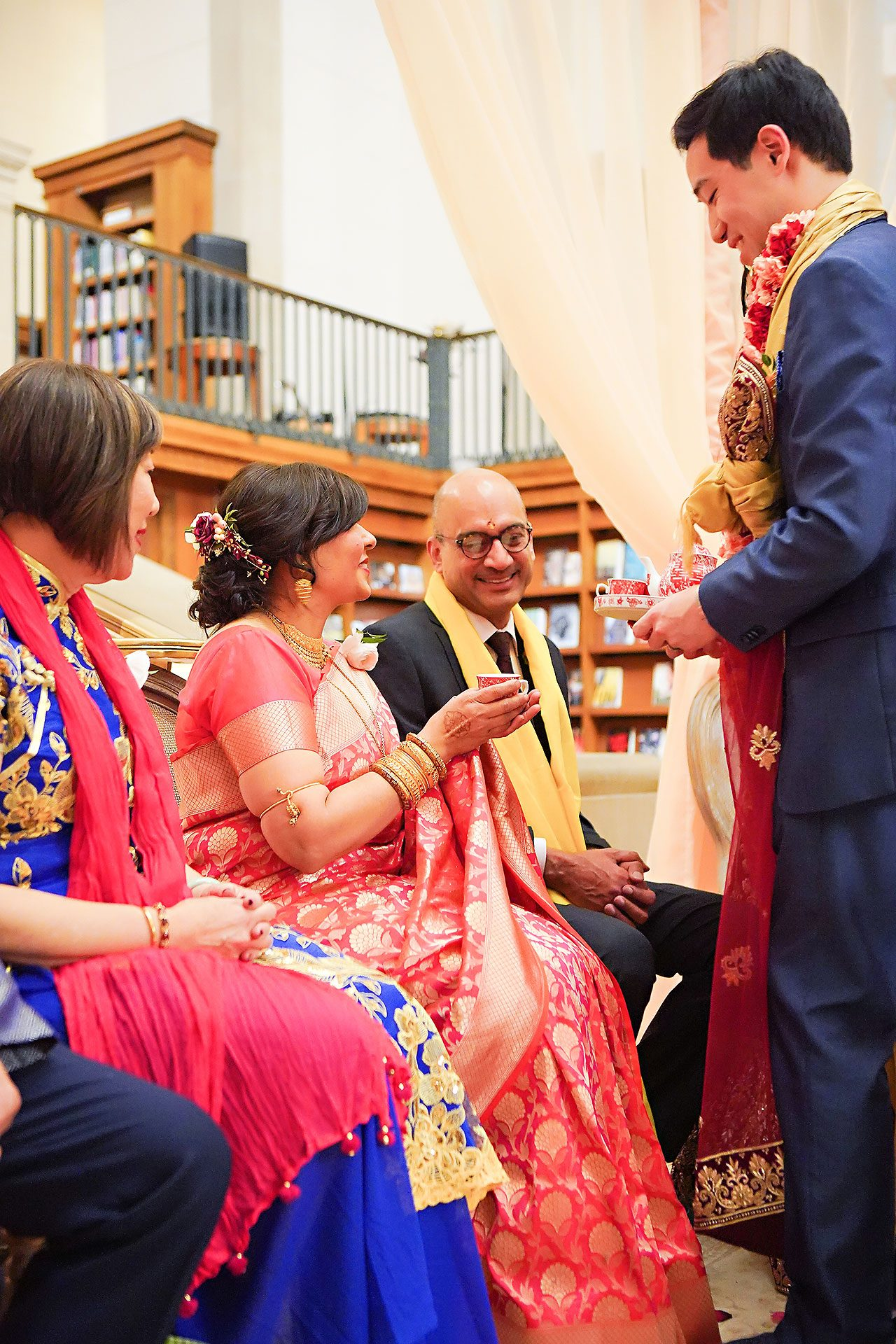Ritika Jason Chinese Indian Fusion Wedding Ceremony 271