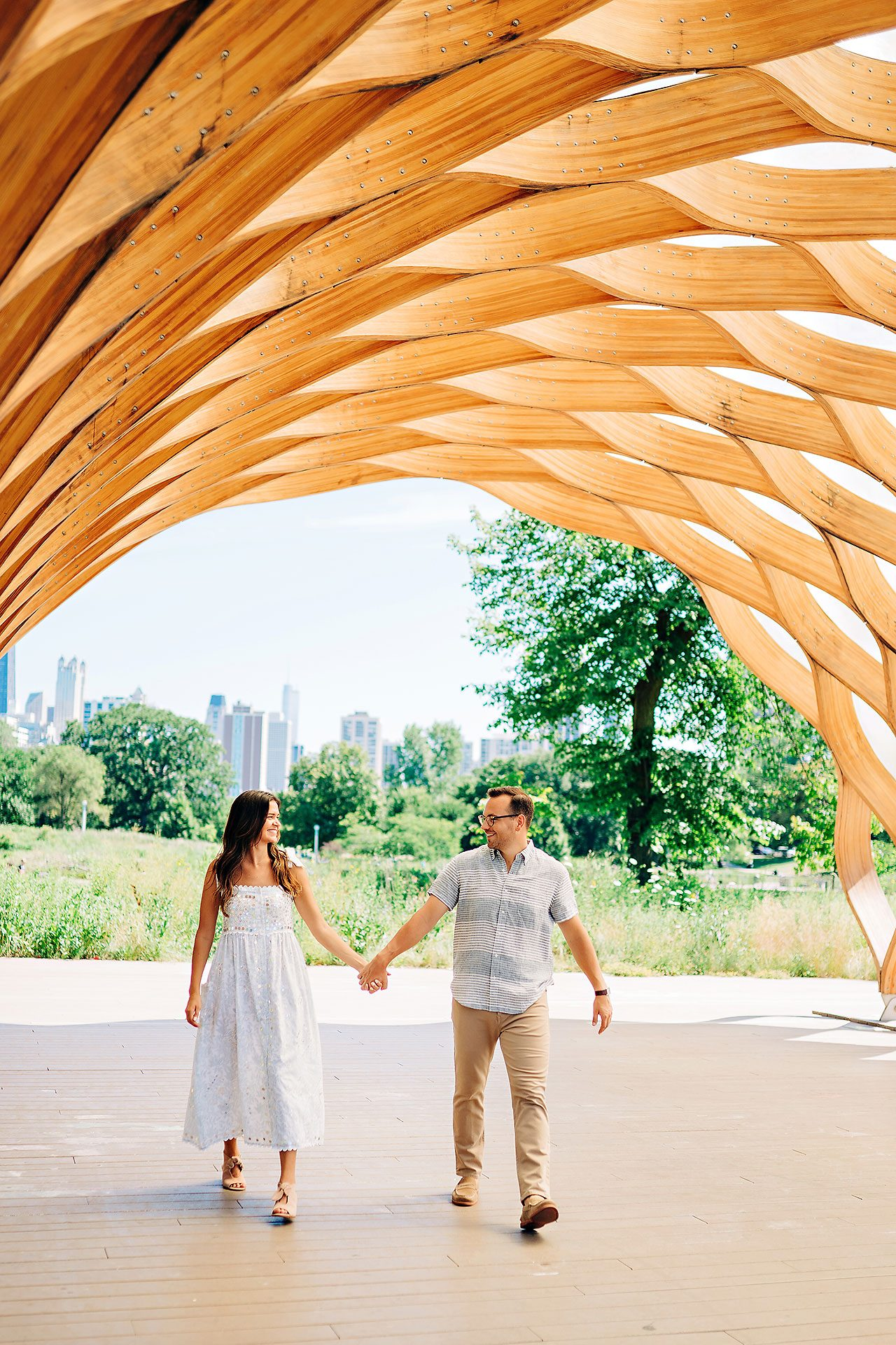 Kaitlin Collin Chicago Engagement Session 091