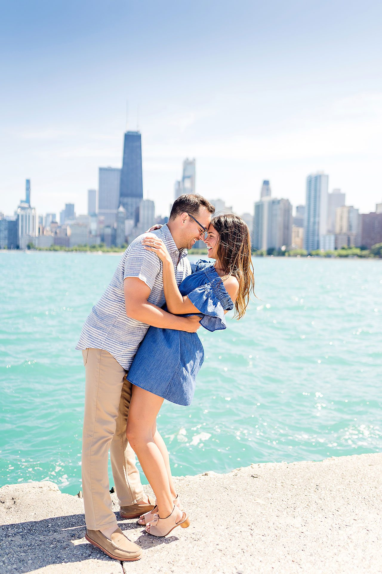 Kaitlin Collin Chicago Engagement Session 107