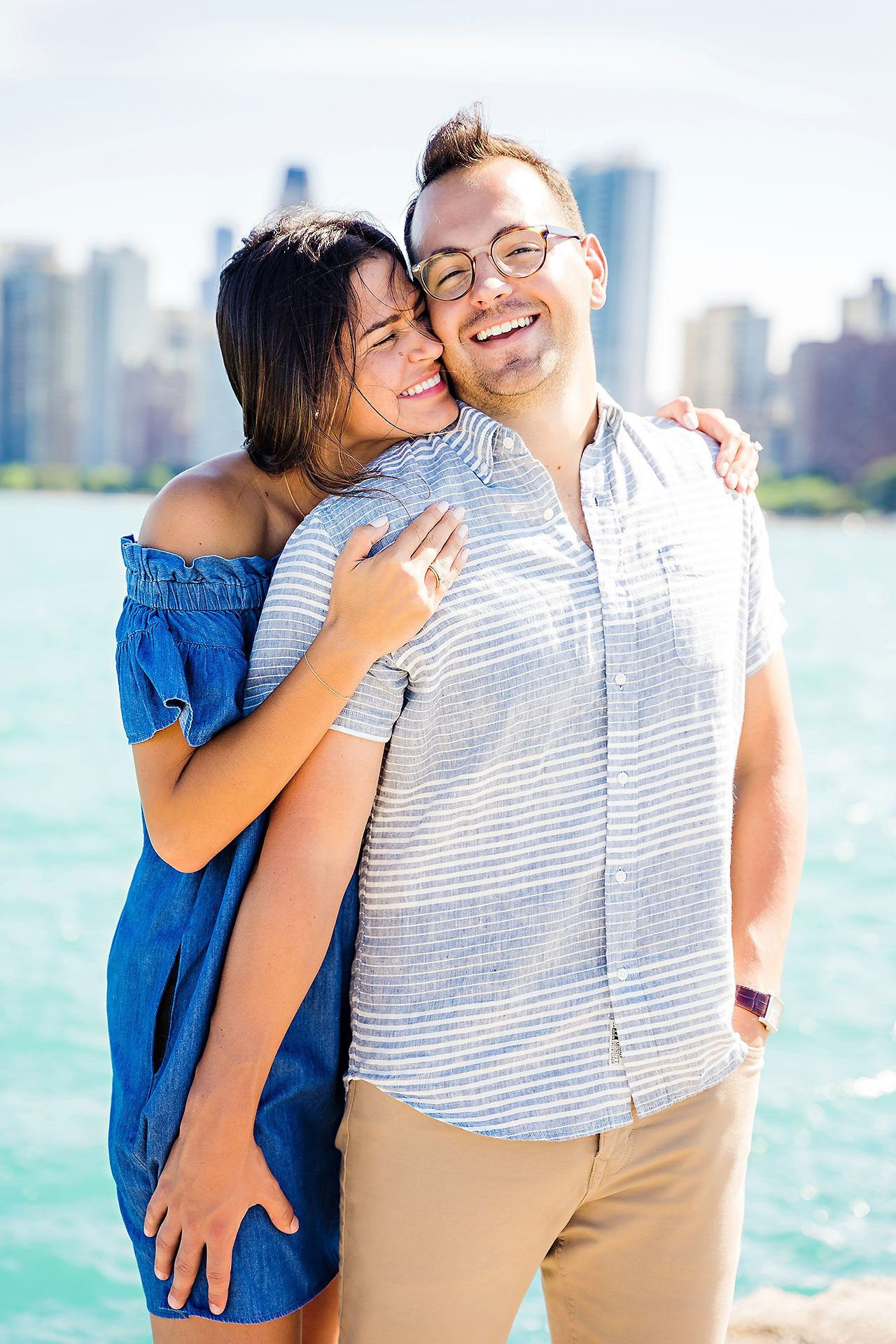 Kaitlin Collin Chicago Engagement Session 123