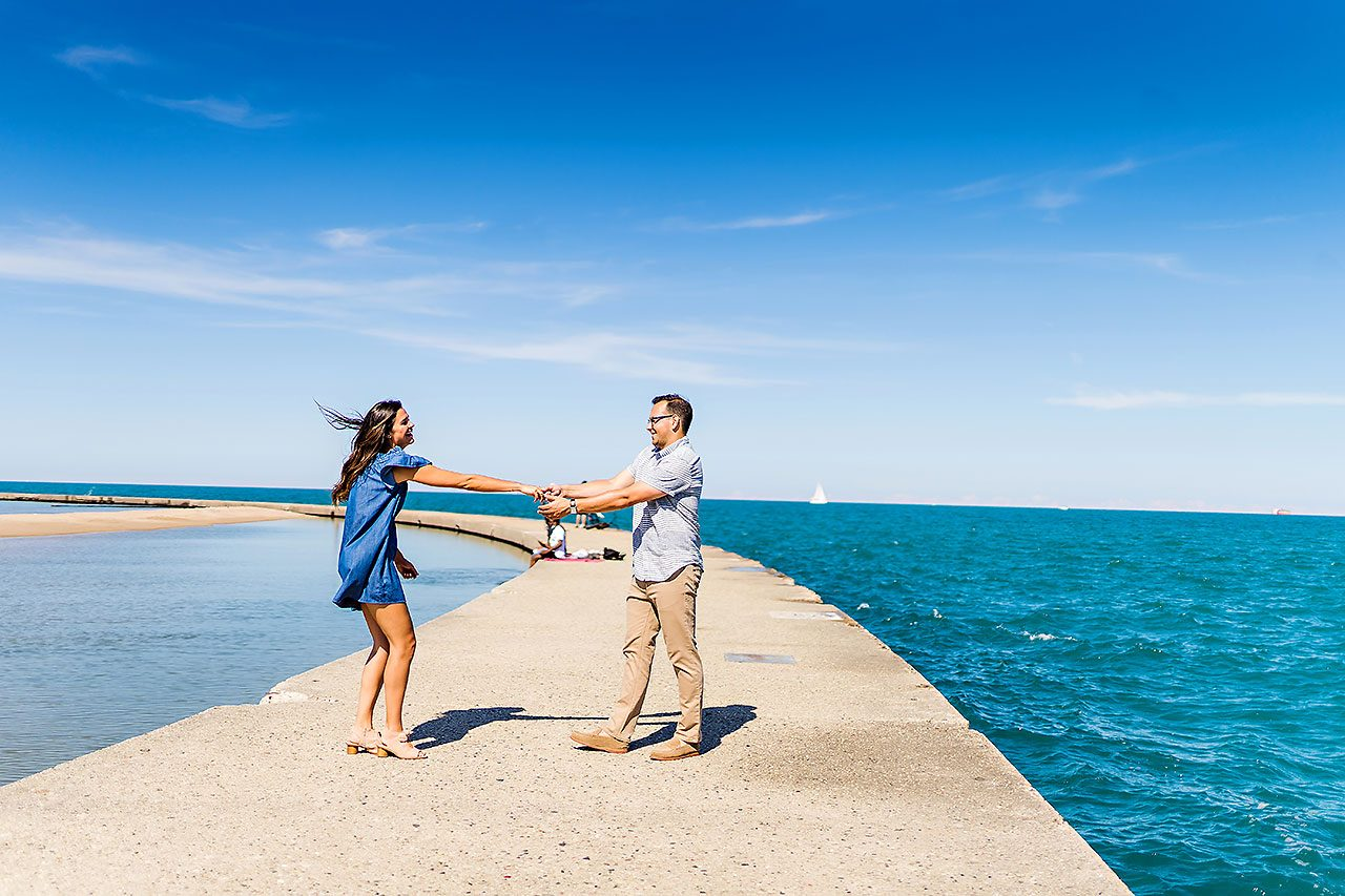 Kaitlin Collin Chicago Engagement Session 131
