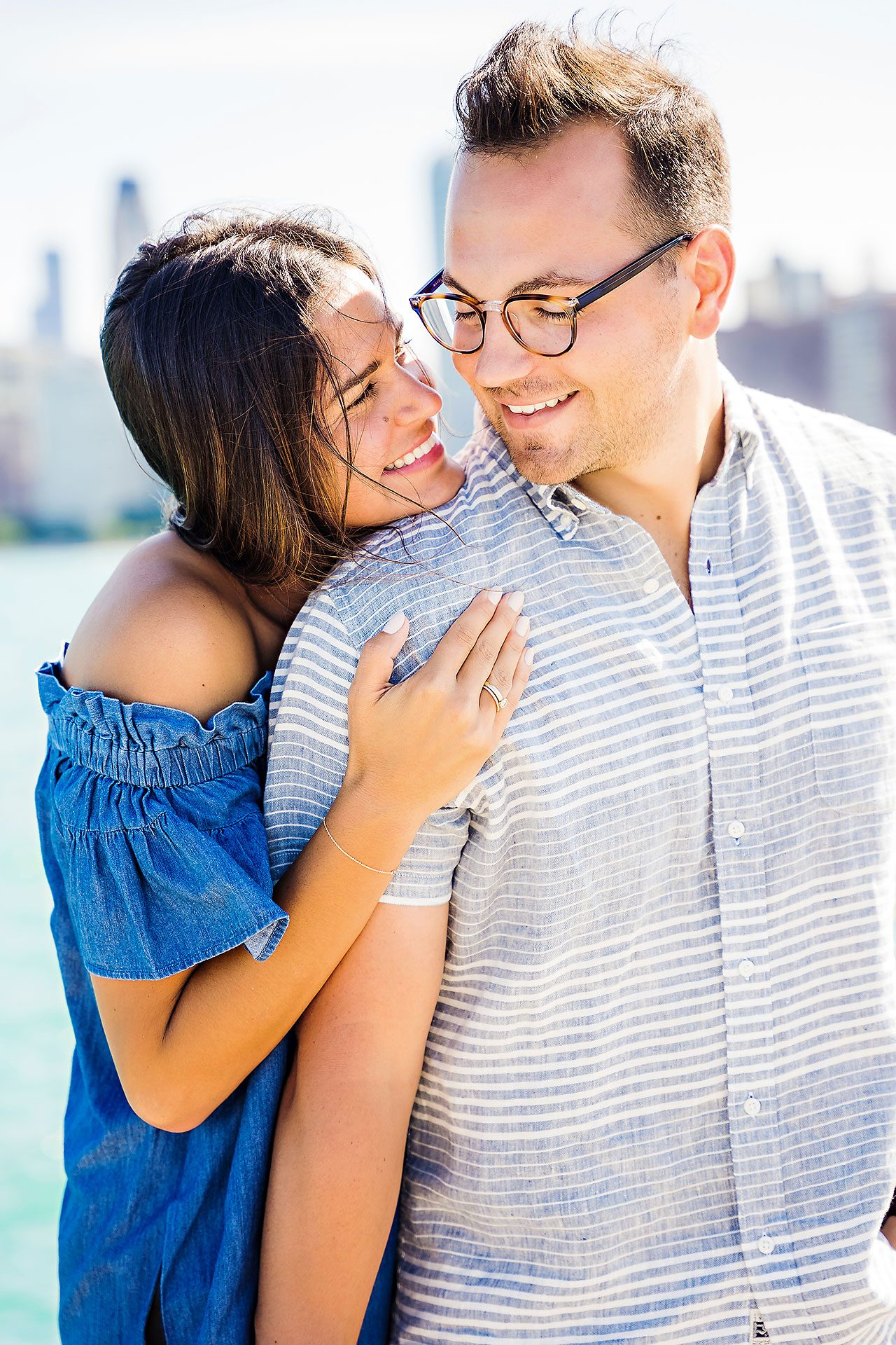 Kaitlin Collin Chicago Engagement Session 140