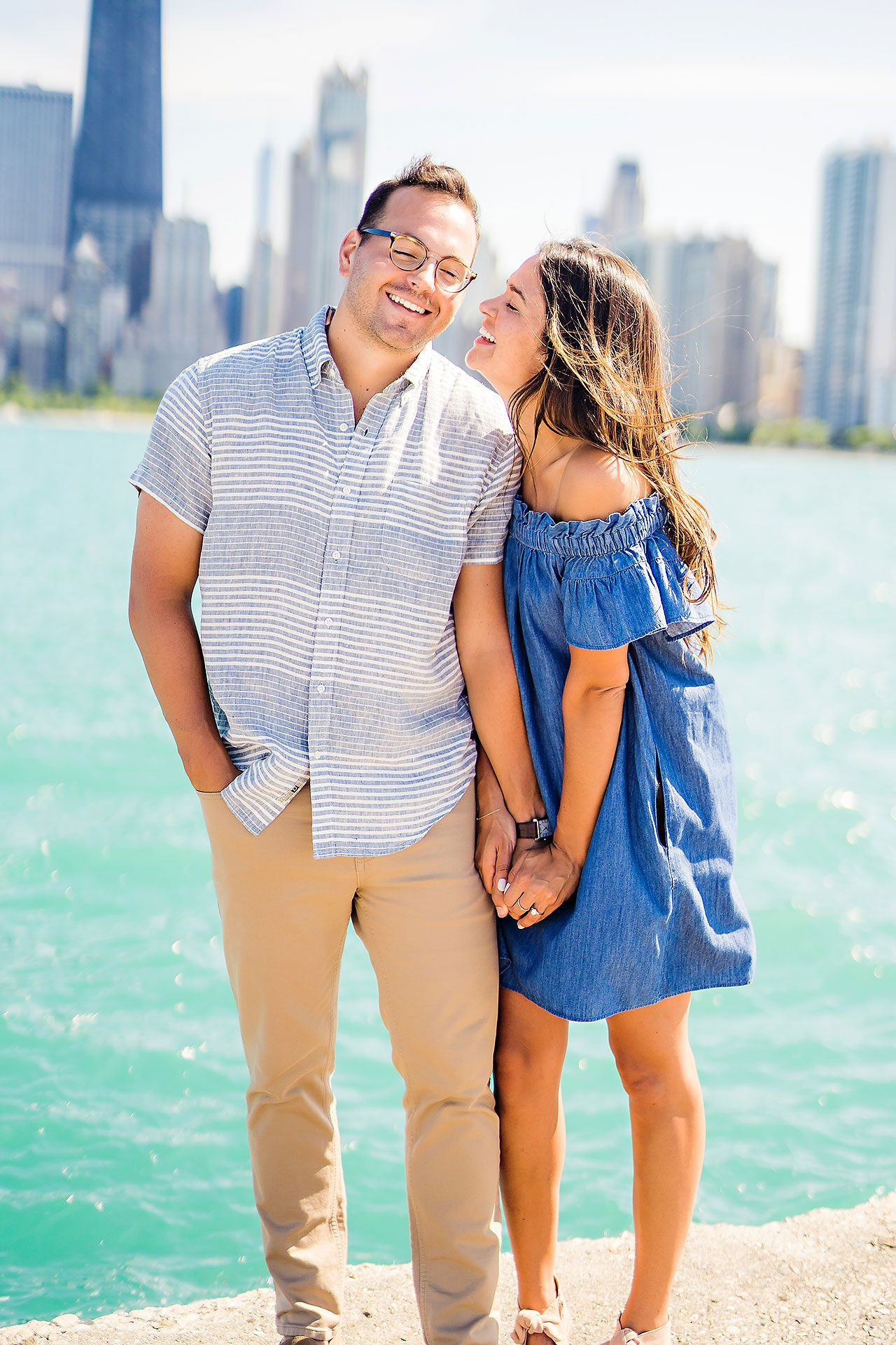 Kaitlin Collin Chicago Engagement Session 141