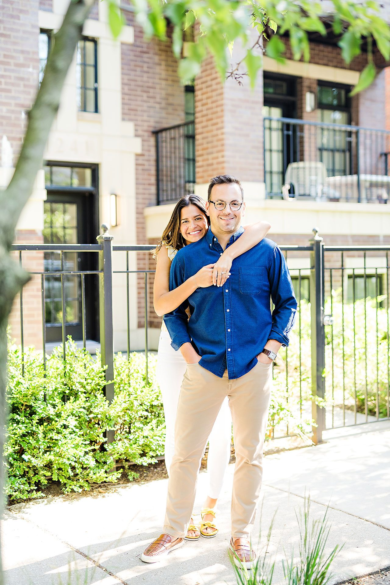 Kaitlin Collin Chicago Engagement Session 151