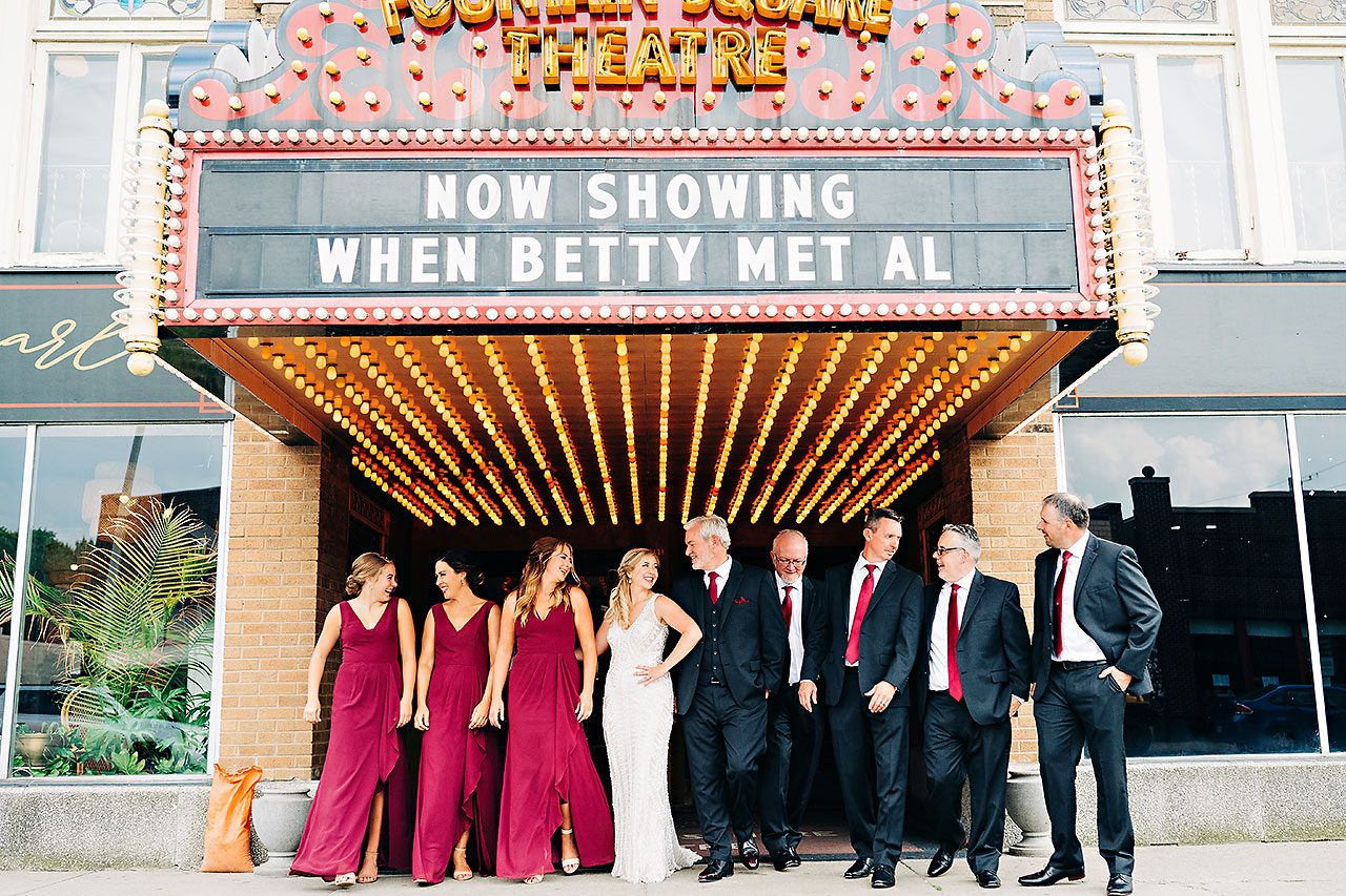 Kara Sean Fountain Square Theater Indianapolis Wedding 175
