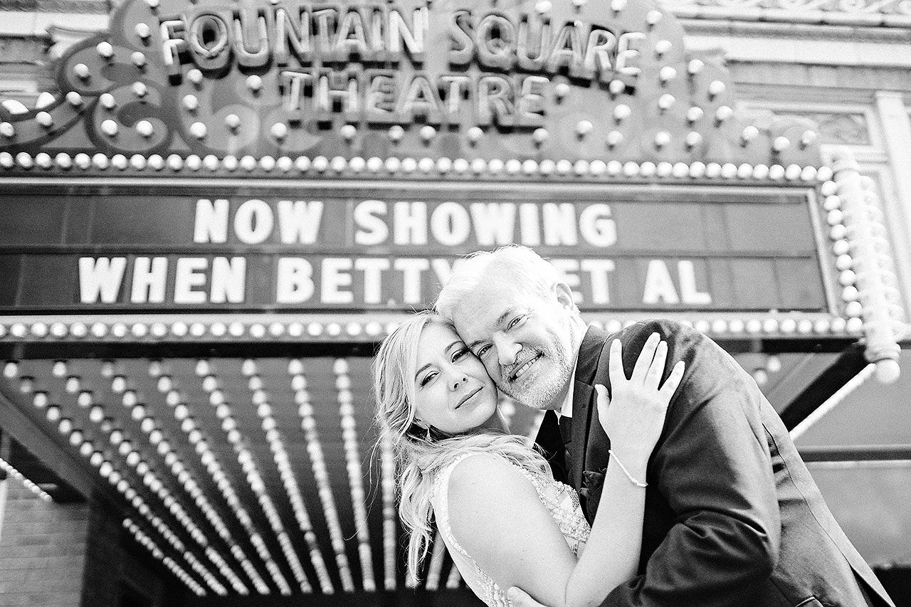 Kara Sean Fountain Square Theater Indianapolis Wedding 176