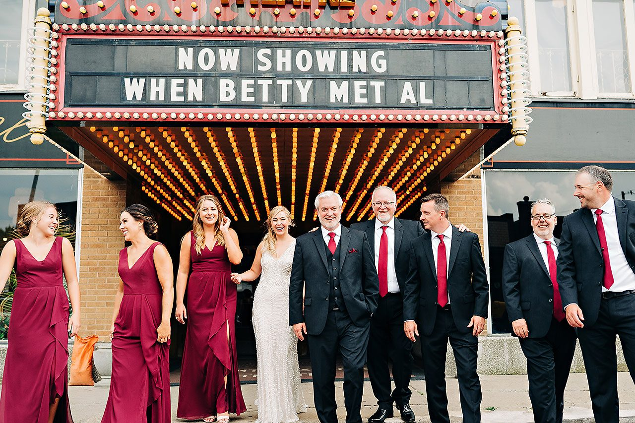 Kara Sean Fountain Square Theater Indianapolis Wedding 177