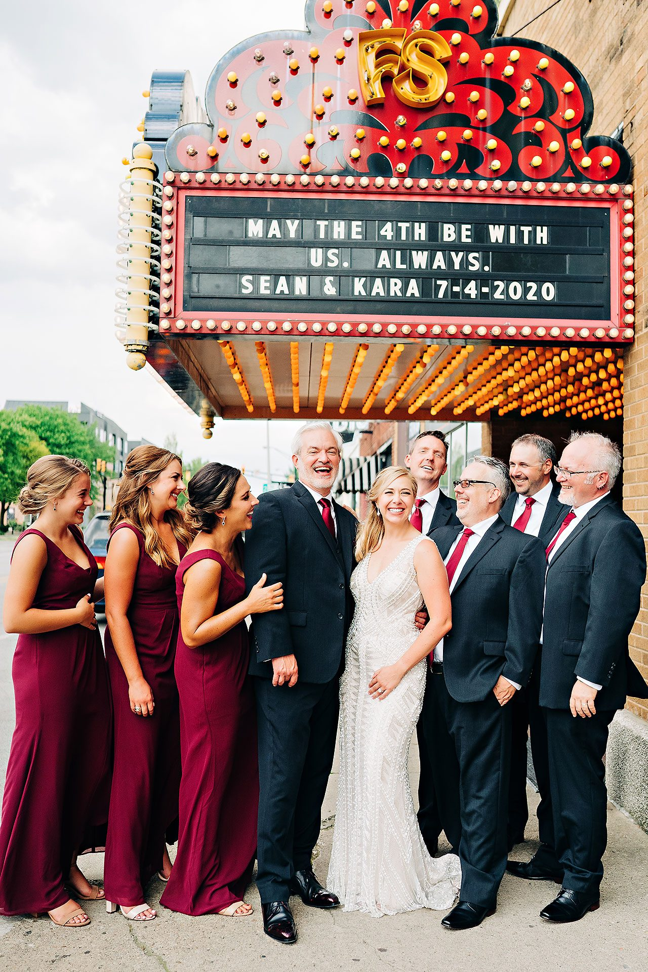 Kara Sean Fountain Square Theater Indianapolis Wedding 180