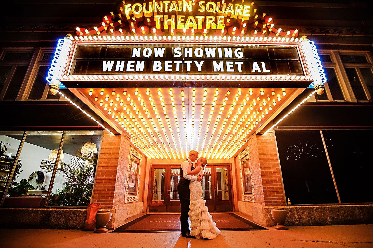 Kara Sean Fountain Square Theater Indianapolis Wedding 334